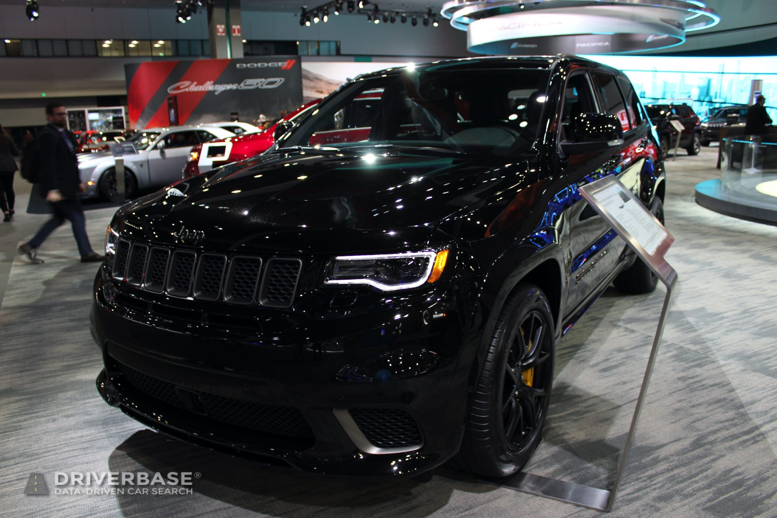 2020 Jeep Grand Cherokee Track Hawk at the 2019 Los Angeles Auto Show