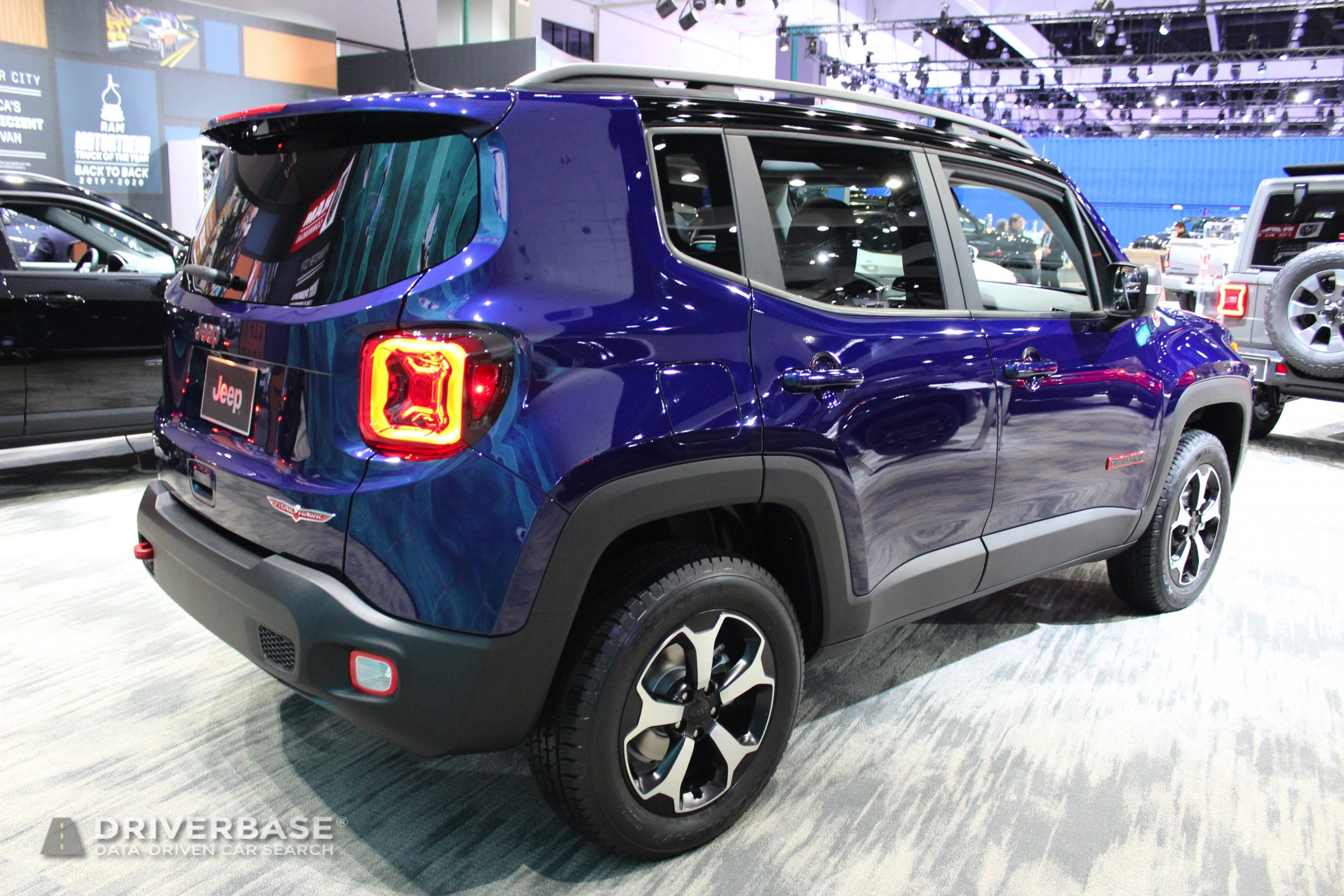 2020 Jeep Renegade Trail Hawk at the 2019 Los Angeles Auto Show