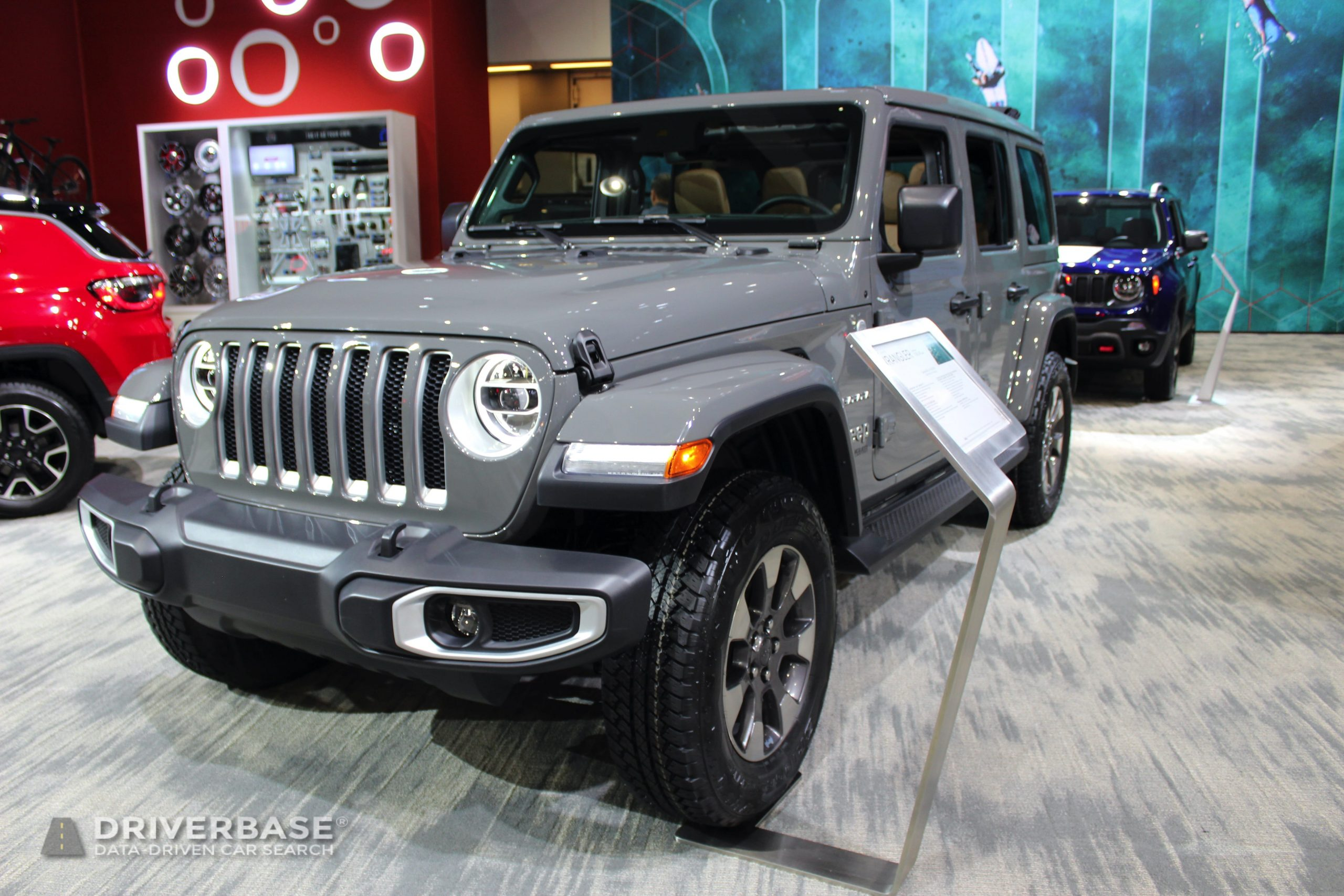 2020 Jeep Wrangler Sahara at the 2019 Los Angeles Auto Show