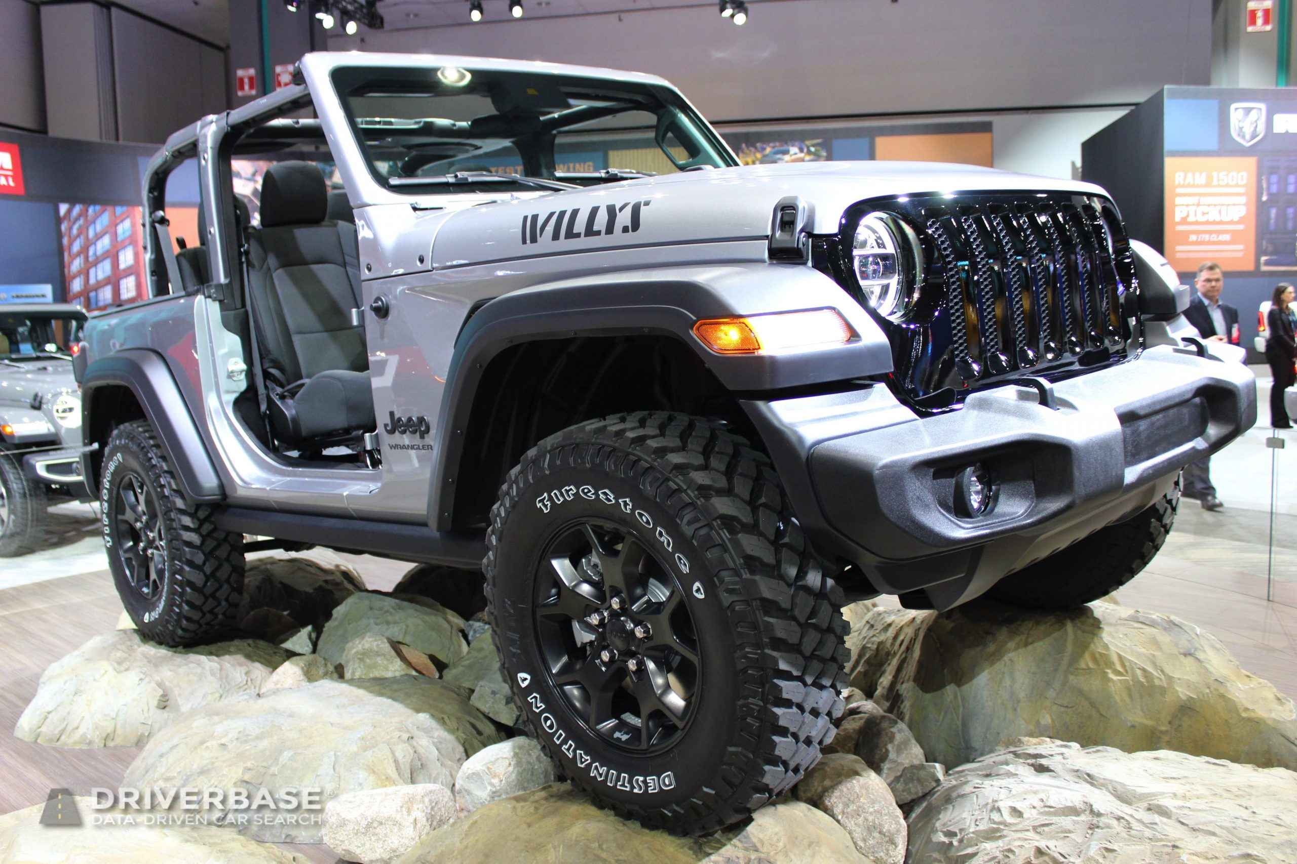 2020 Jeep Wrangler Willys at the 2019 Los Angeles Auto Show