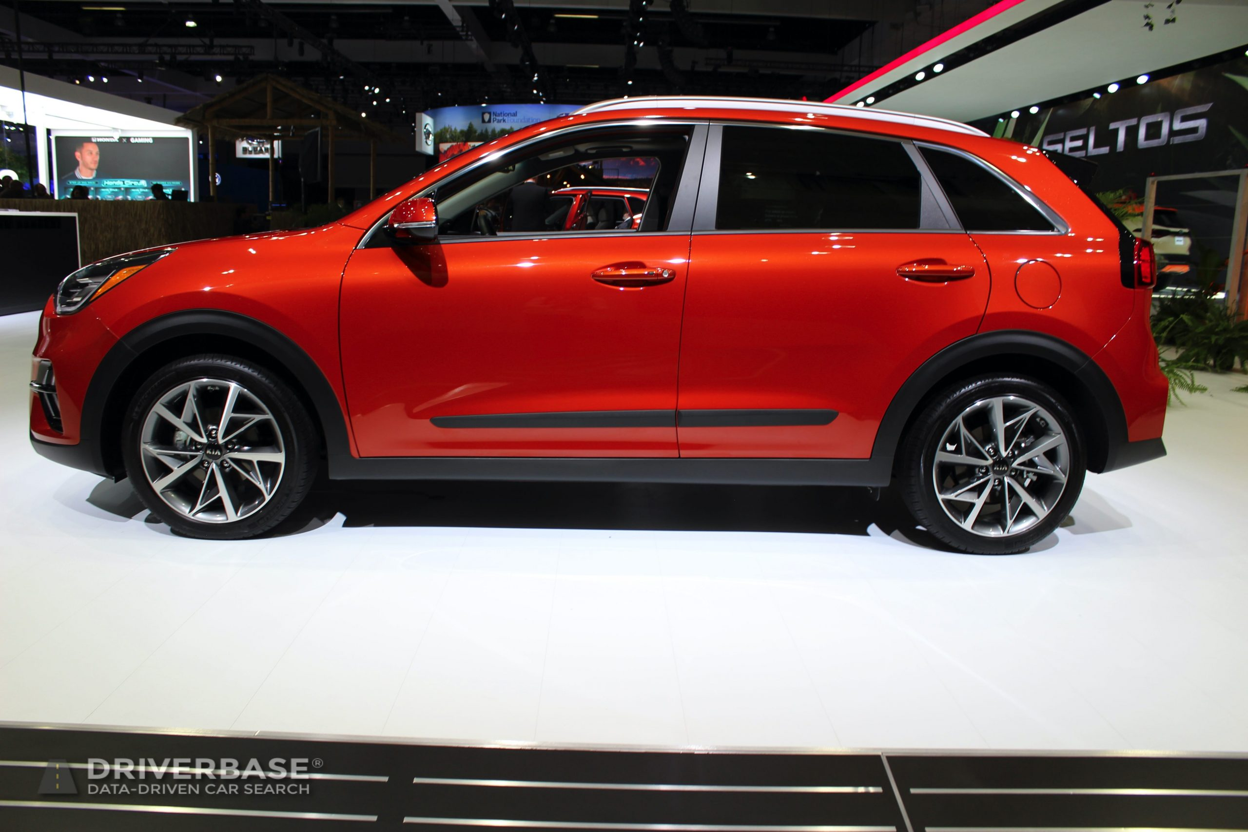 2020 Kia Niro Touring at the 2019 Los Angeles Auto Show