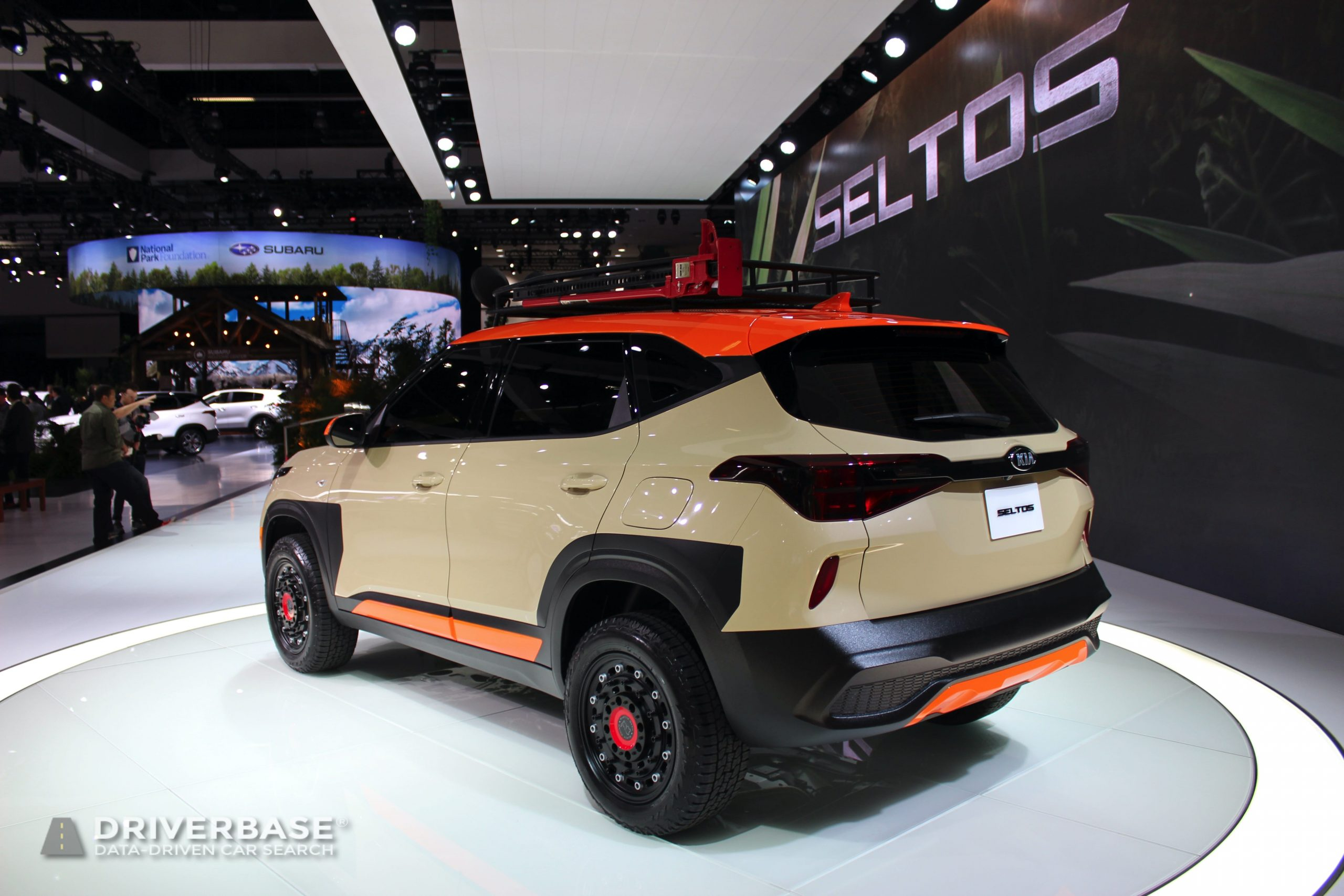 2020 Kia Seltos at the 2019 Los Angeles Auto Show