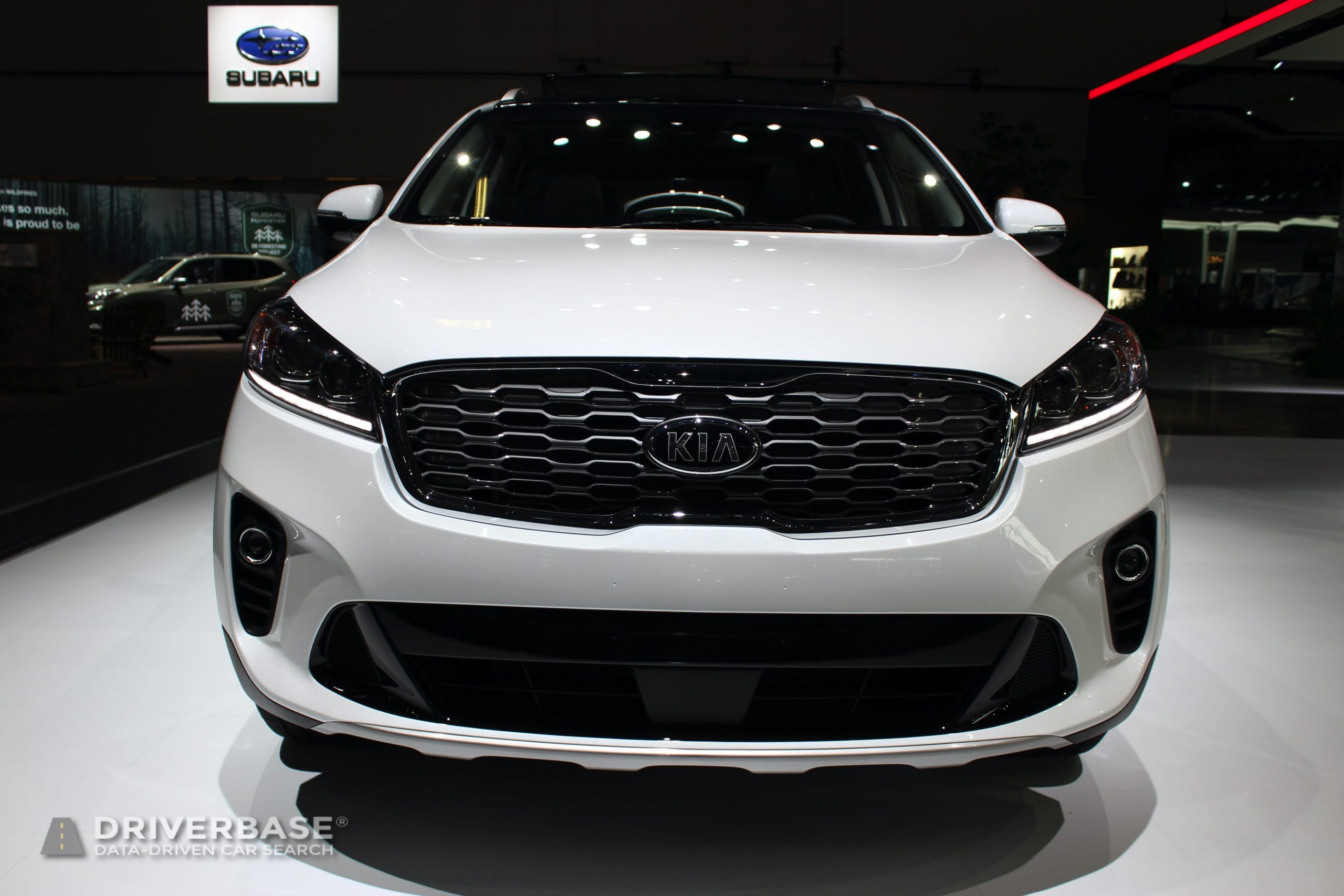 2020 Kia Sorento EX at the 2019 Los Angeles Auto Show