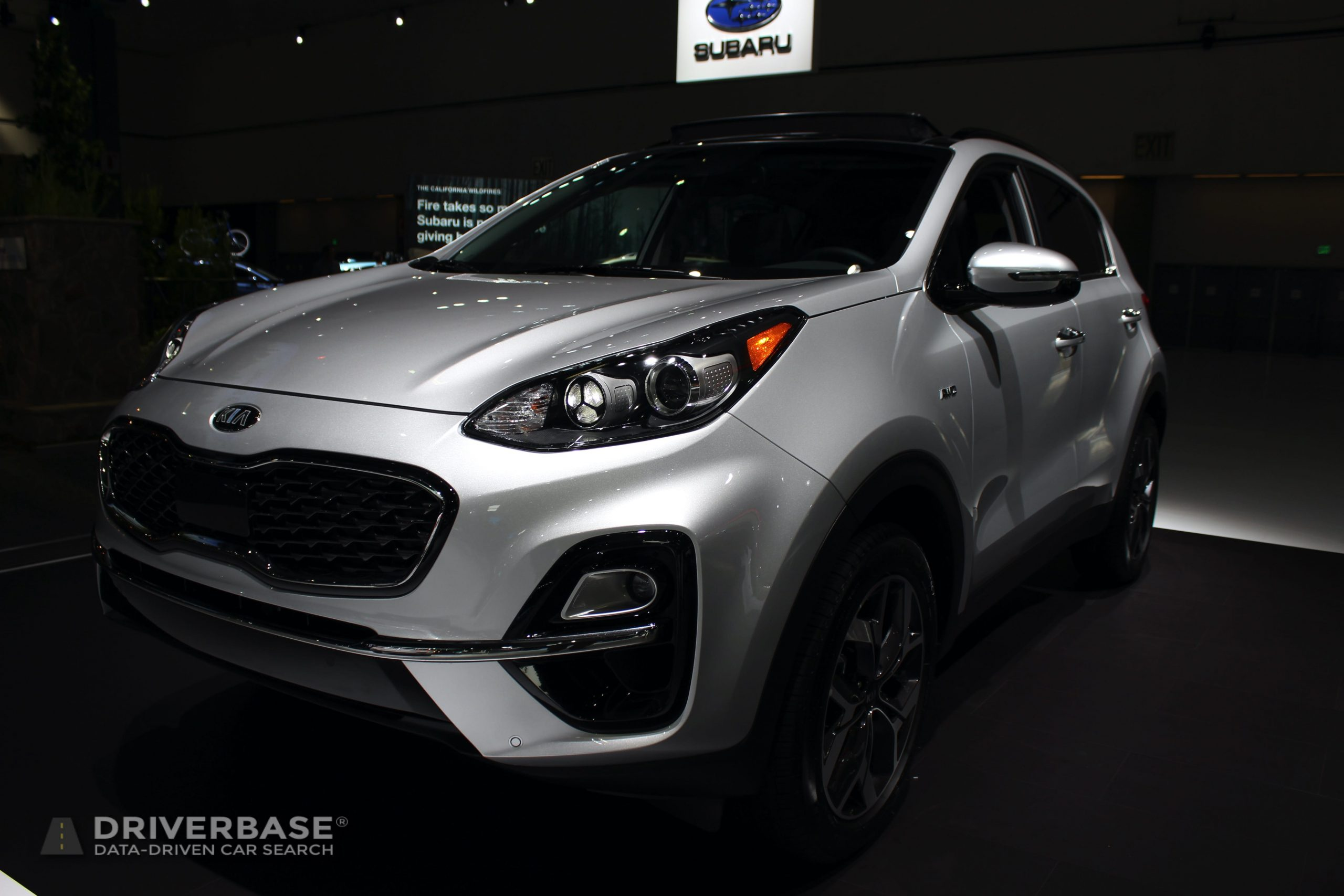 2020 Kia Sportage at the 2019 Los Angeles Auto Show