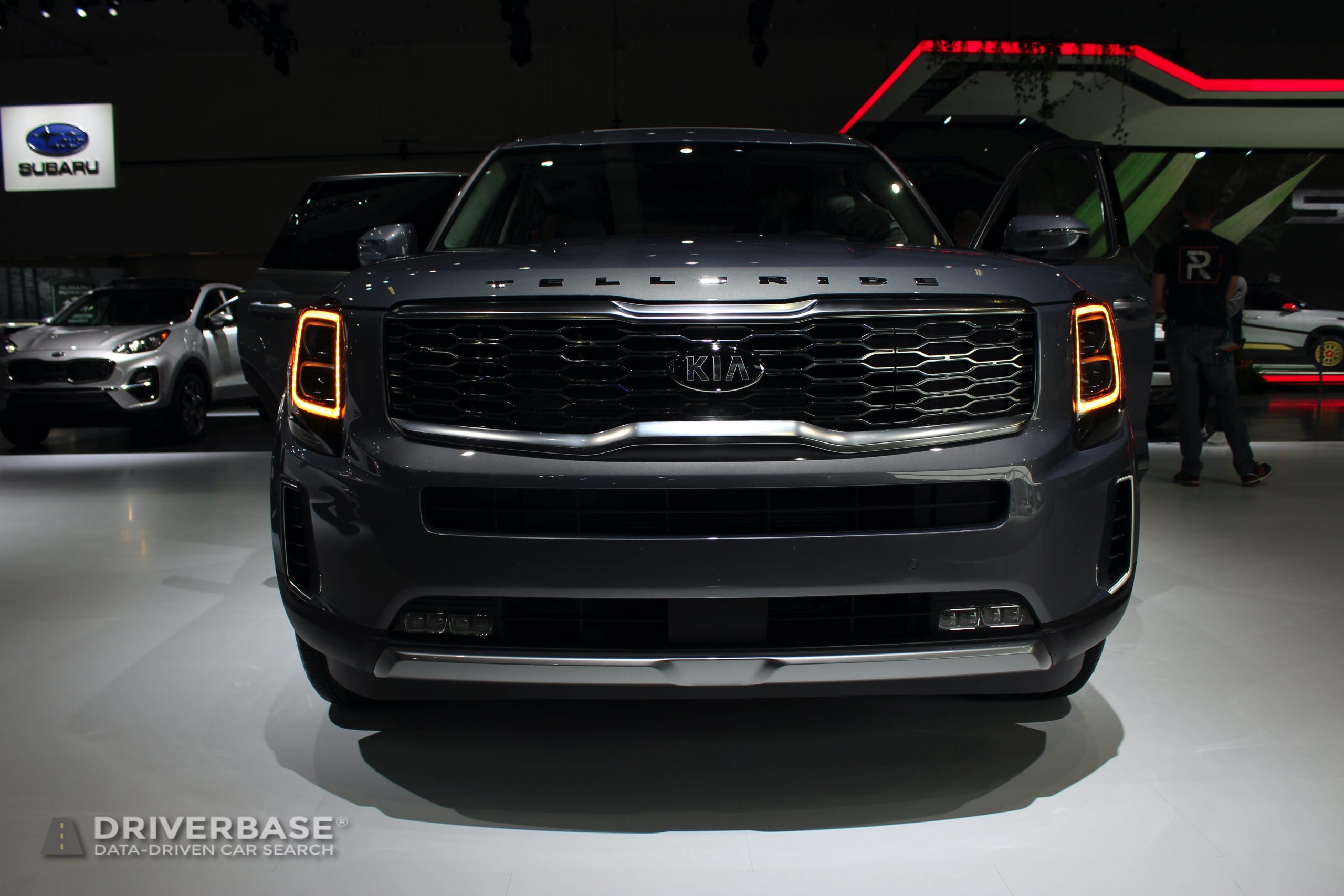 2020 Kia Telluride at the 2019 Los Angeles Auto Show