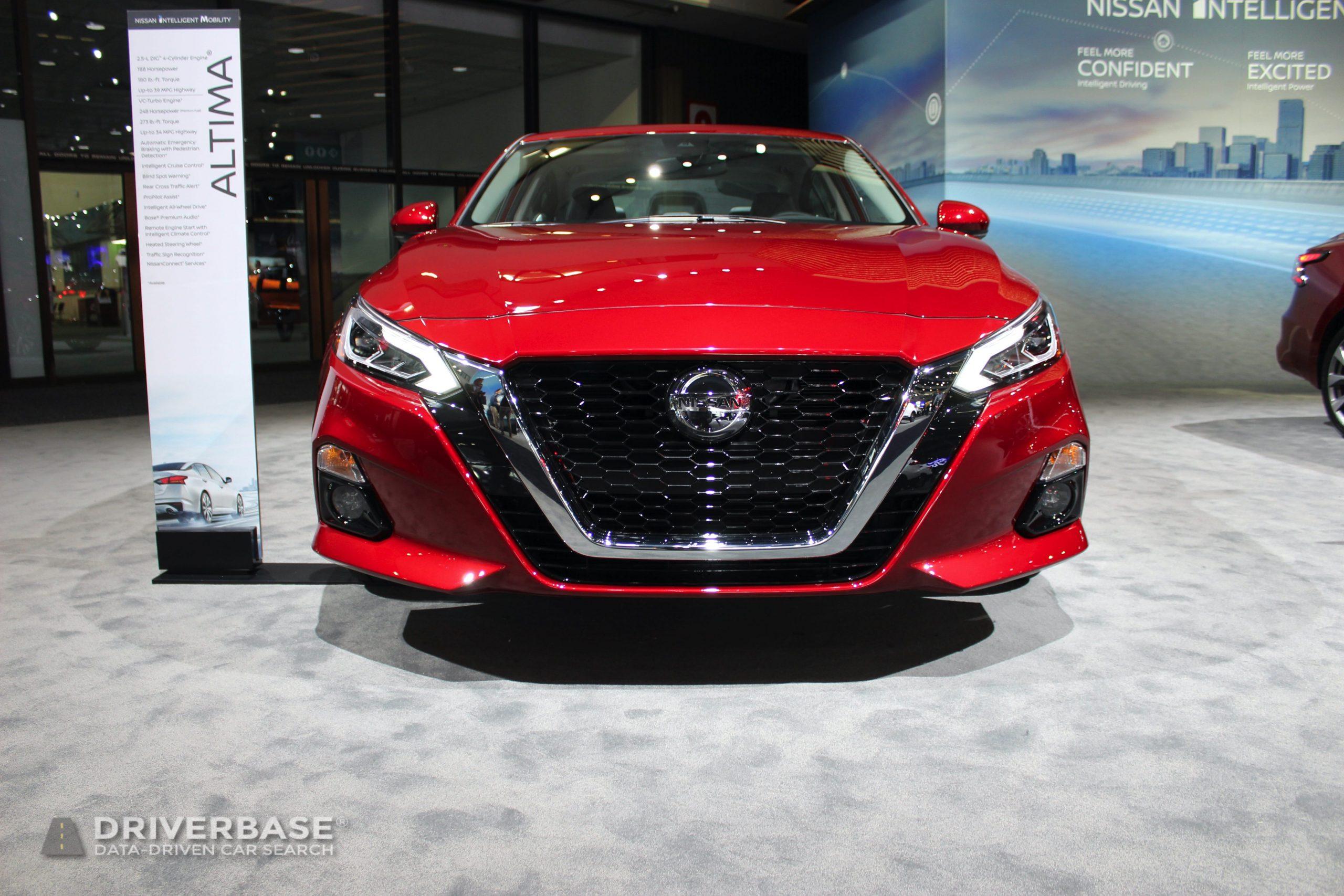 2020 Nissan Altima Platinum 2019 Los Angeles Auto Show