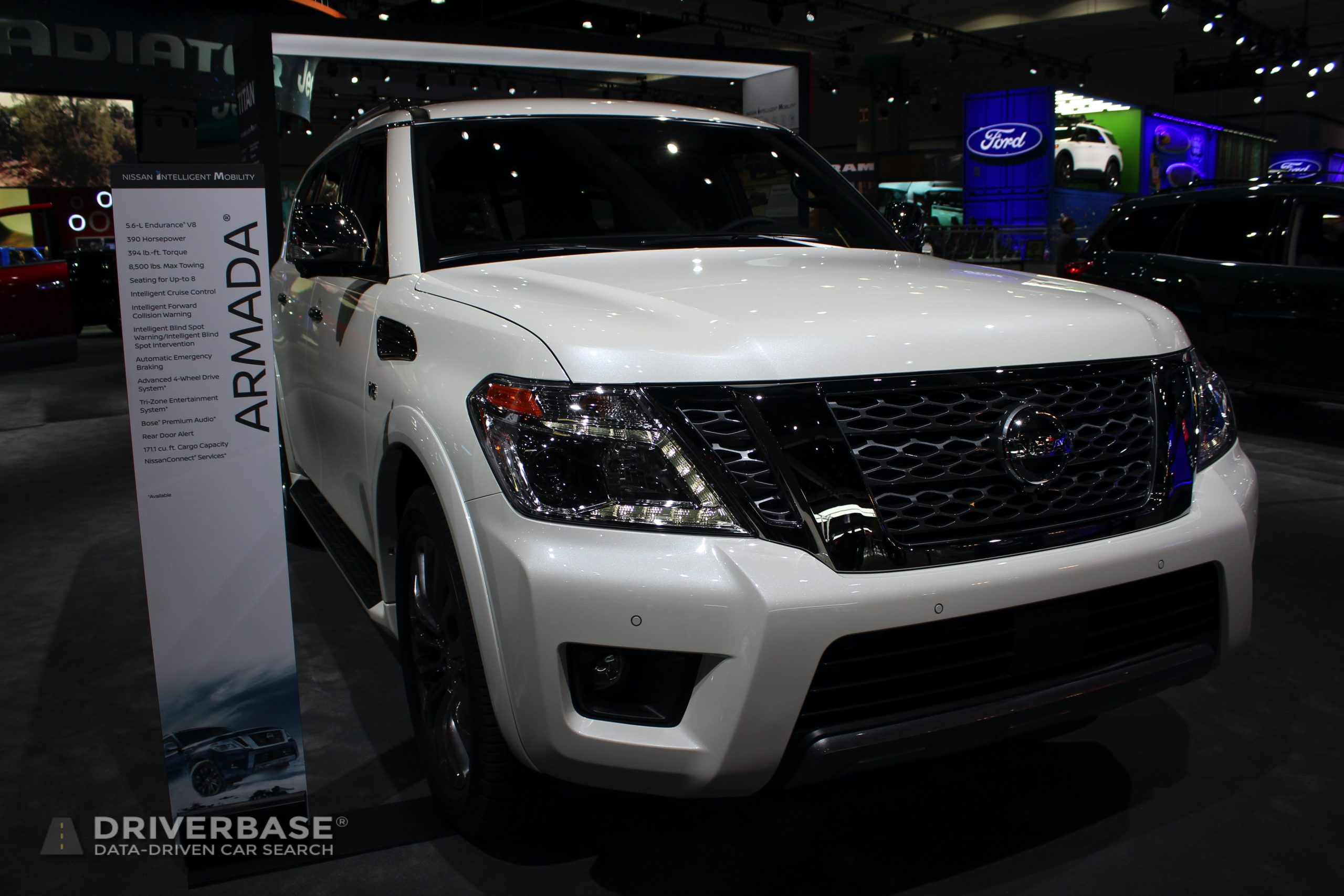 2020 Nissan Armada at the 2019 Los Angeles Auto Show