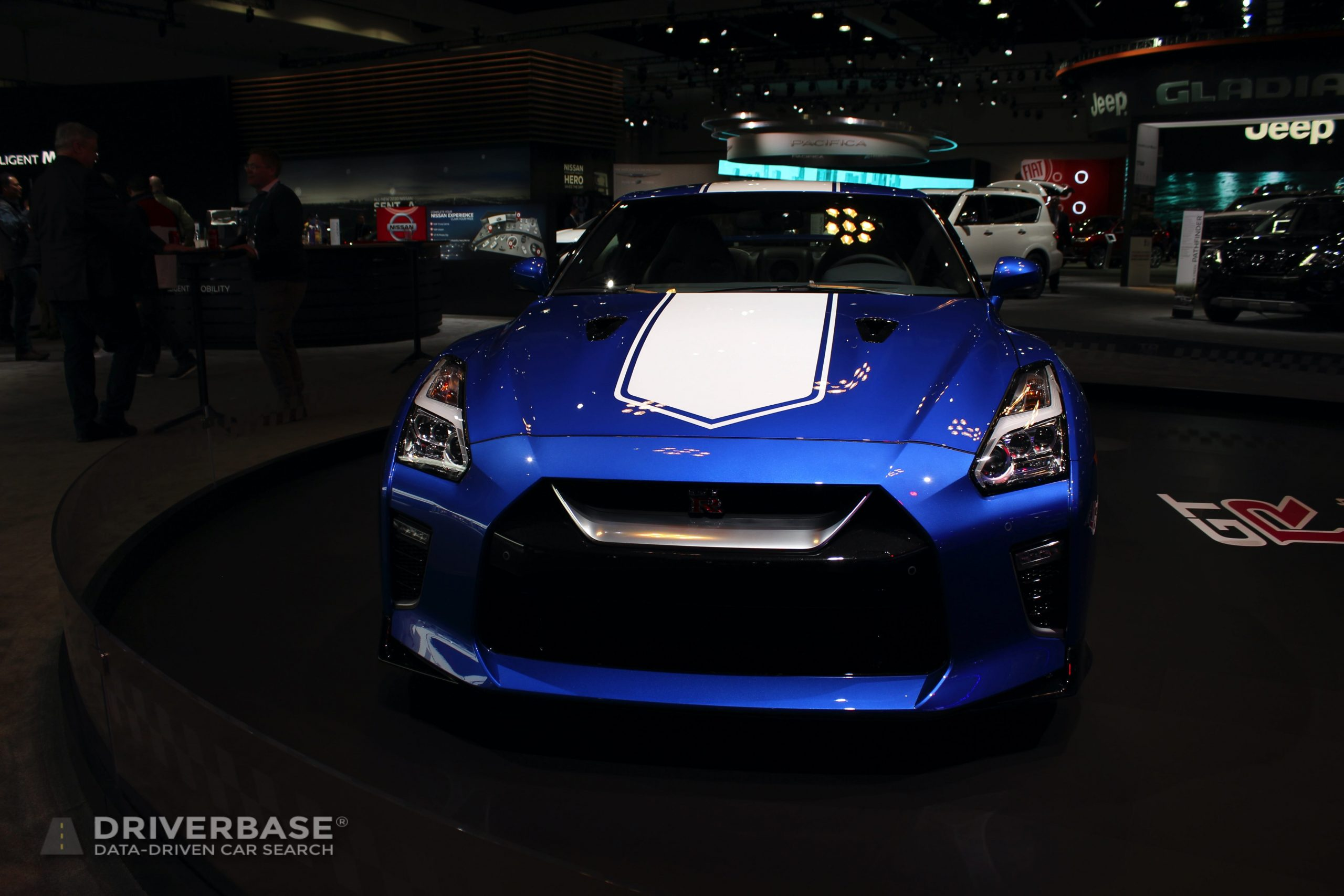 2020 Nissan GT-R at the 2019 Los Angeles Auto Show