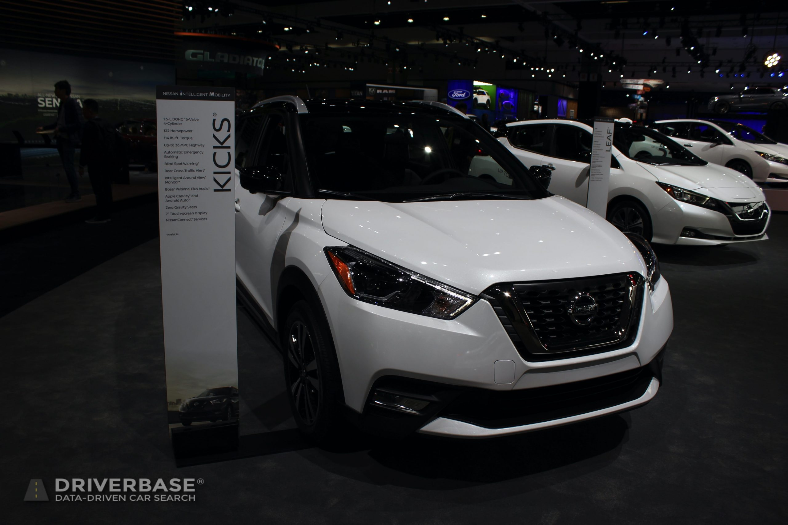 2020 Nissan Kicks at the 2019 Los Angeles Auto Show