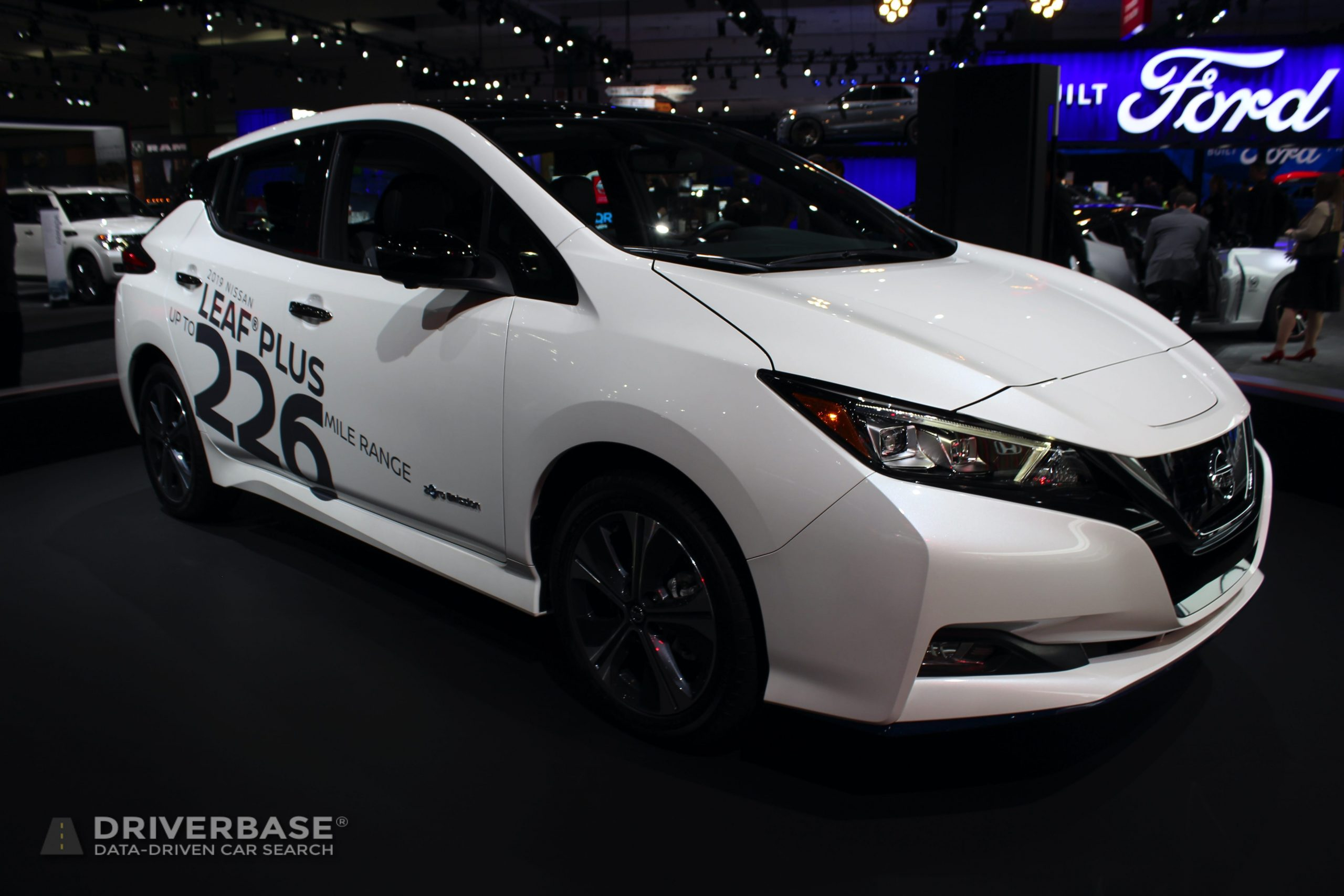 2020 Nissan Leaf Plus at the 2019 Los Angeles Auto Show