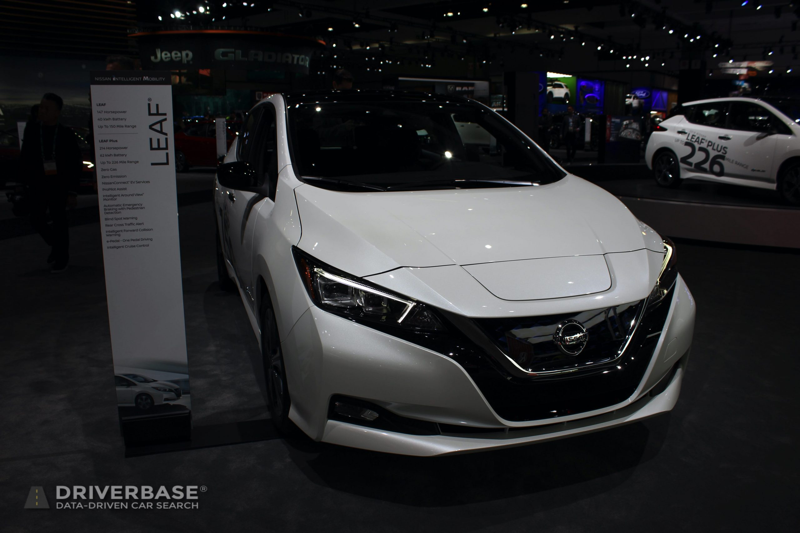 2020 Nissan Leaf at the 2019 Los Angeles Auto Show