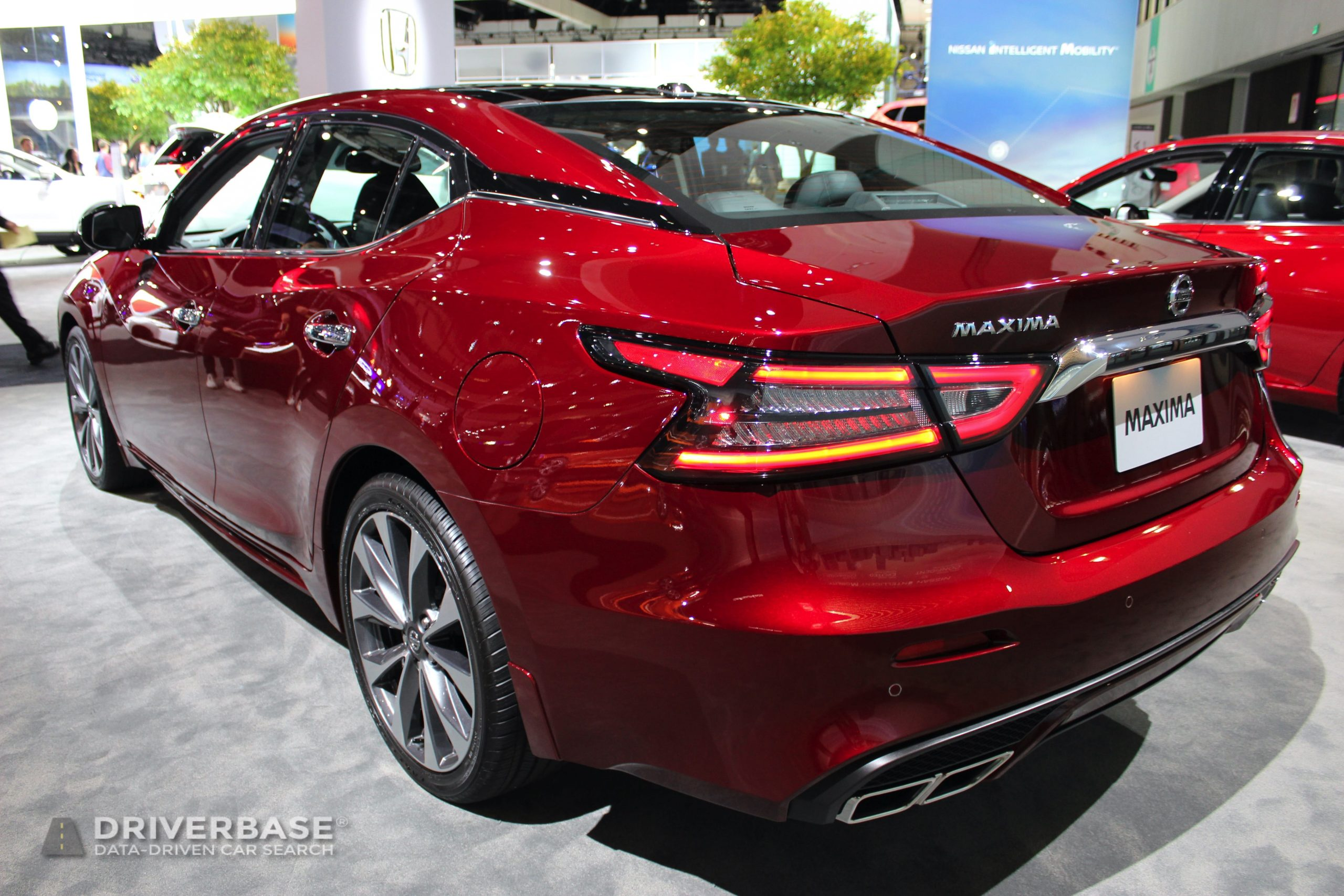 2020 Nissan Maxima Platinum at the 2019 Los Angeles Auto Show