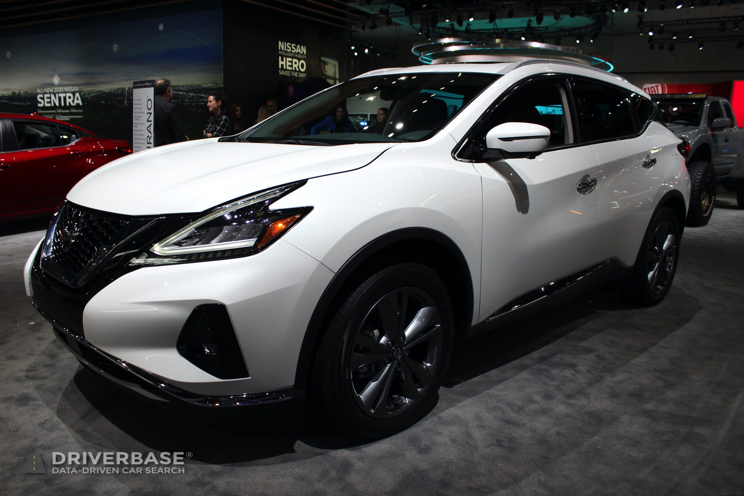 2020 Nissan Murano Platinum at the 2019 Los Angeles Auto Show
