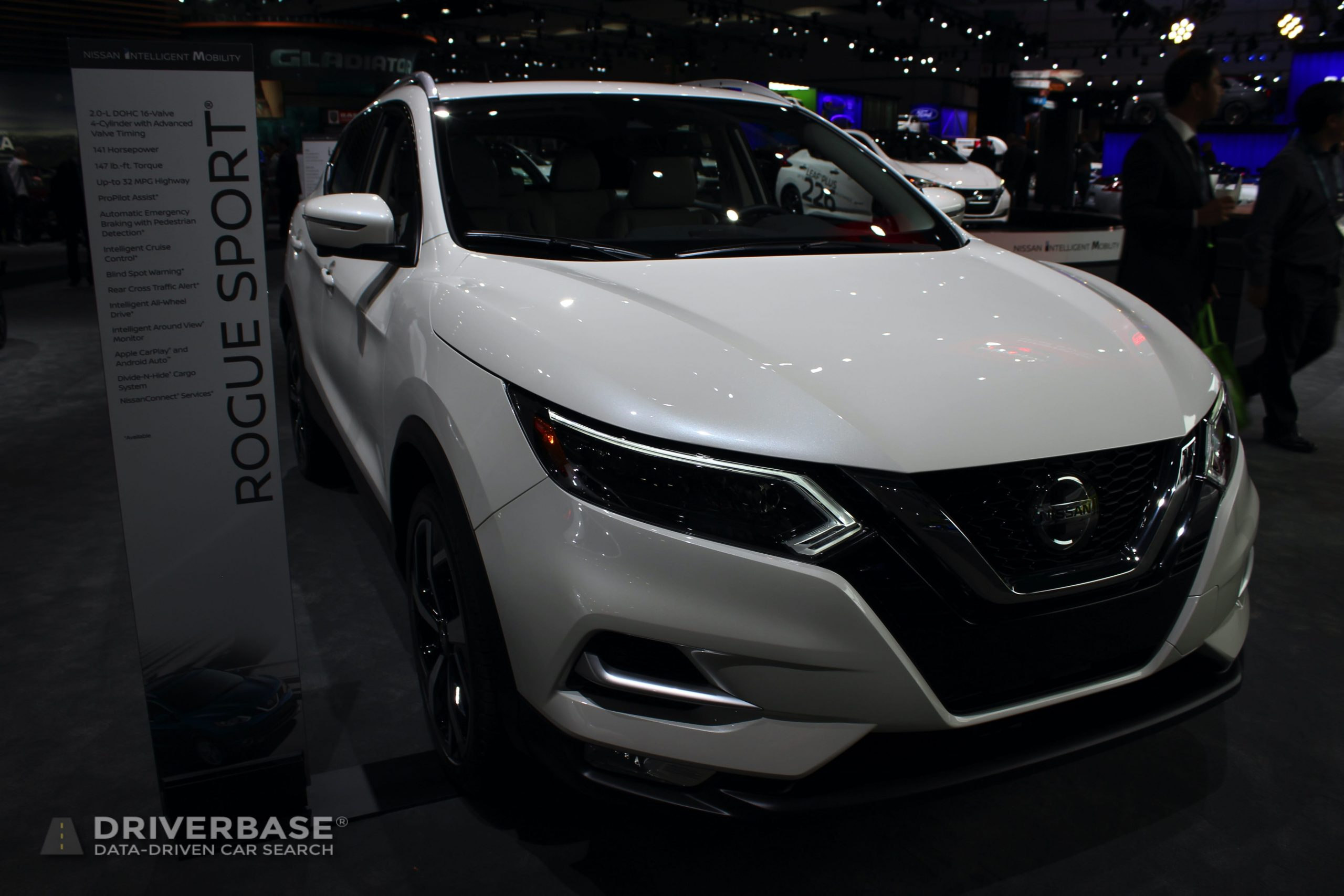 2020 Nissan Rogue Sport at the 2019 Los Angeles Auto Show