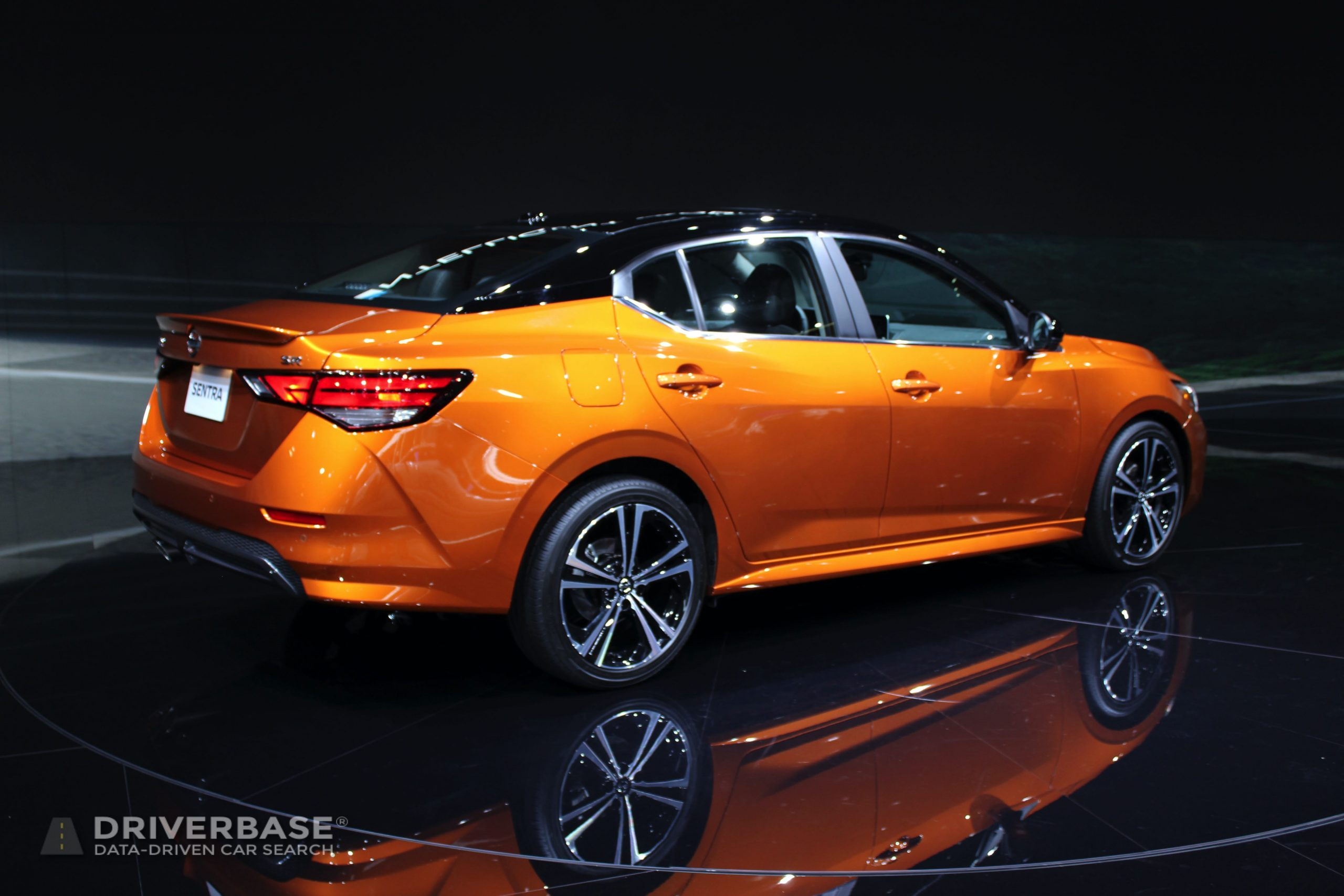 2020 Nissan Sentra at the 2019 Los Angeles Auto Show