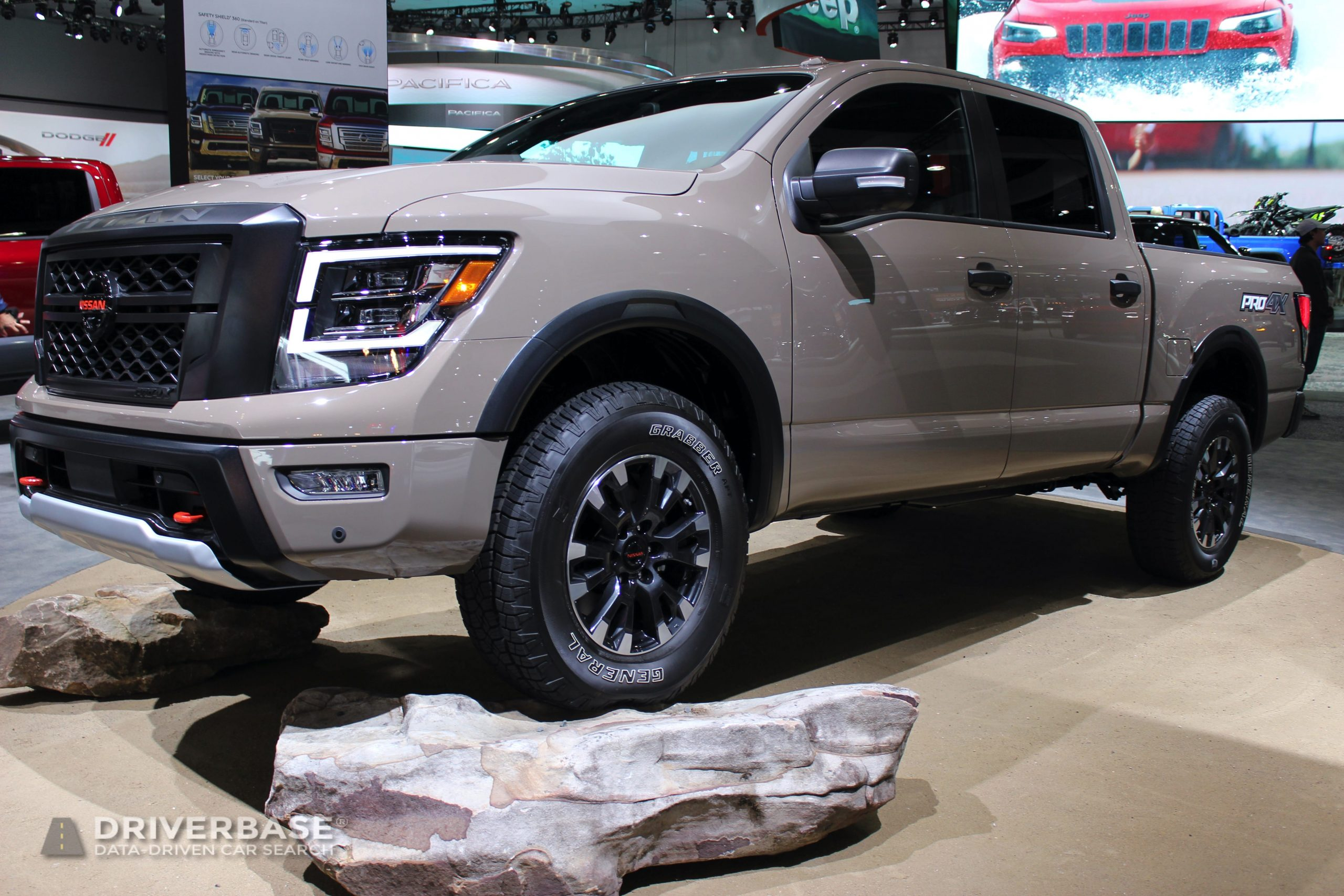 2020 Nissan Titan Pro4X at the 2019 Los Angeles Auto Show