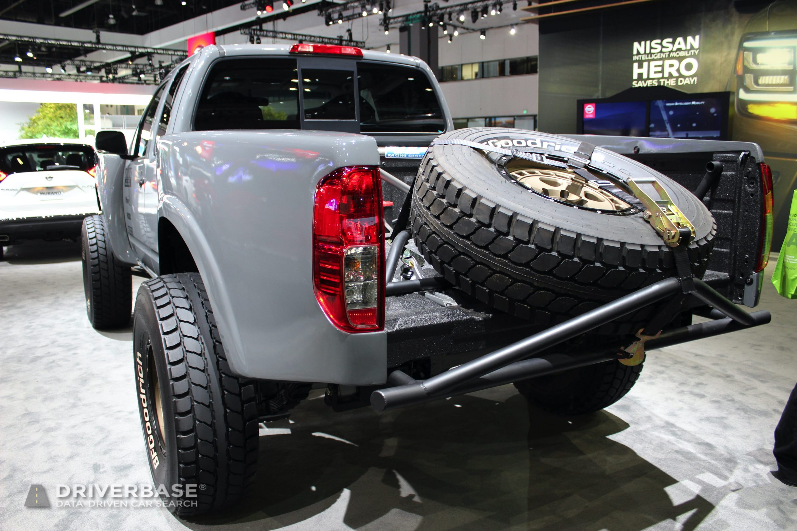 Nissan Titan Rally Truck at the 2019 Los Angeles Auto Show
