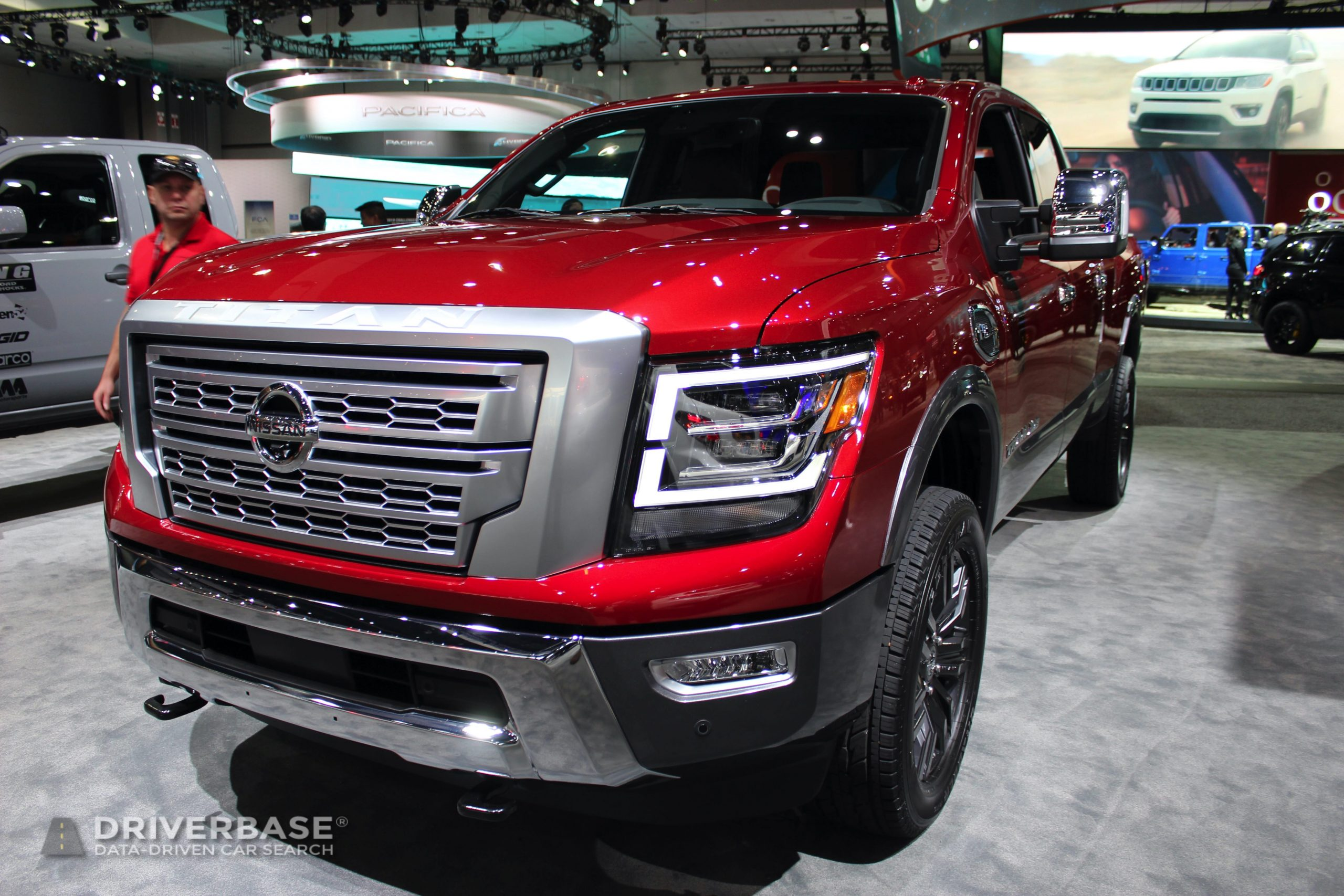 2020 Nissan Titan XD Platinum Reserve at the 2019 Los Angeles Auto Show