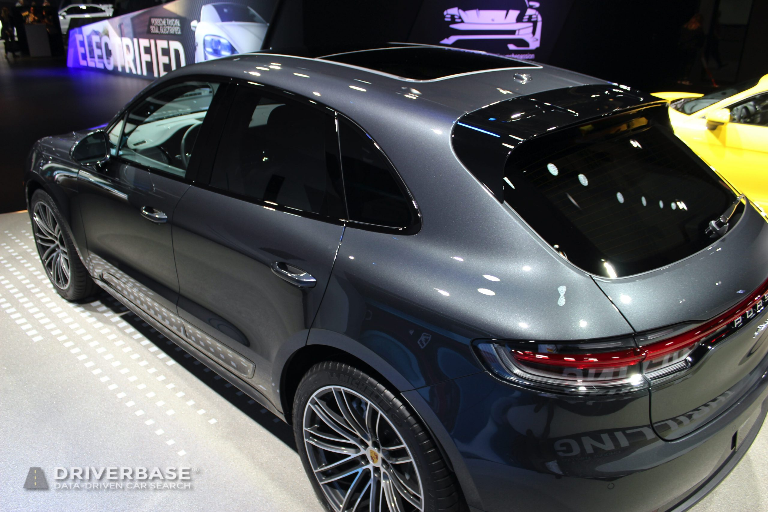 2020 Porsche Macan Turbo at the 2019 Los Angeles Auto Show