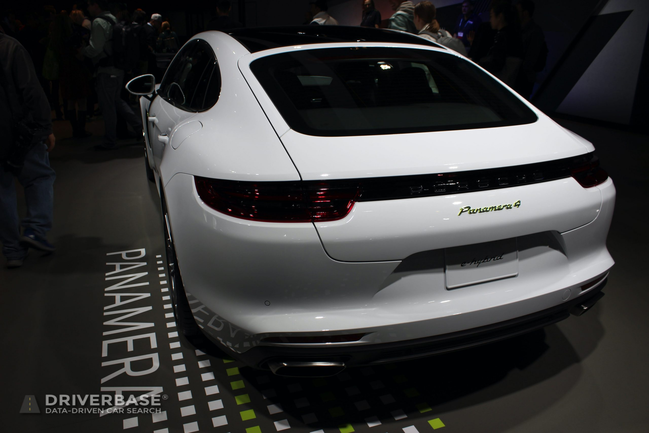 2020 Porsche Panamera 4 e-Hybrid at the 2019 Los Angeles Auto Show
