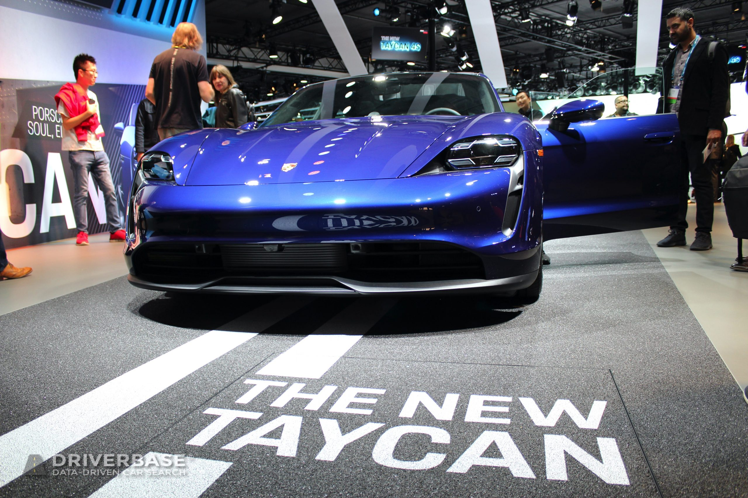 2020 Porsche Taycan 4S Electric at the 2019 Los Angeles Auto Show
