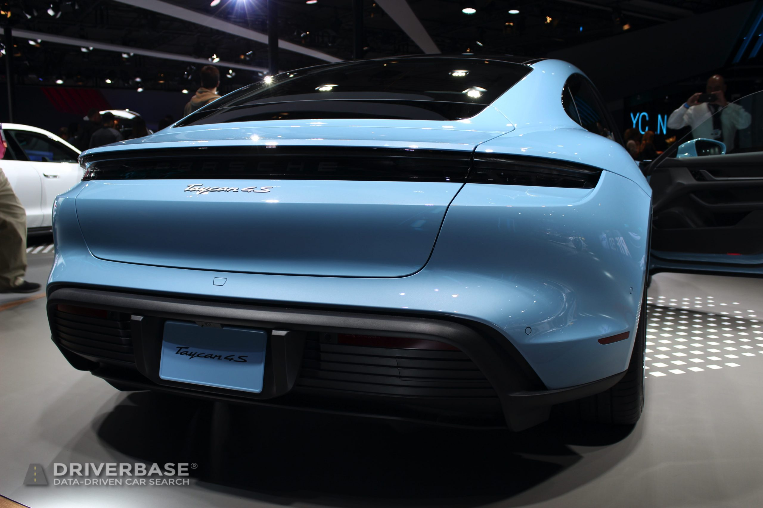 2020 Porsche Taycan 4S at the 2019 Los Angeles Auto Show