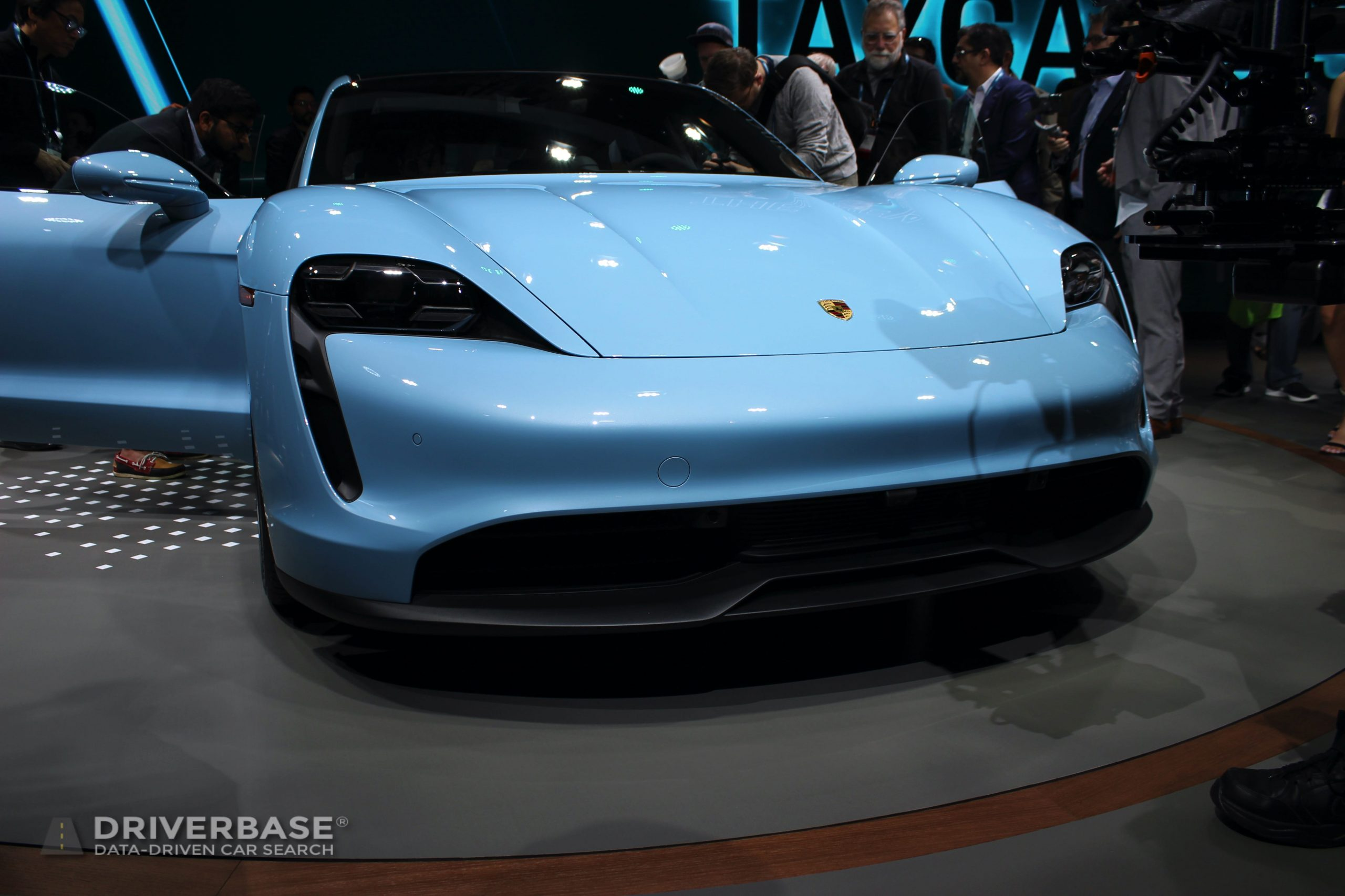 2020 Porsche Taycan Launch at the 2019 Los Angeles Auto Show