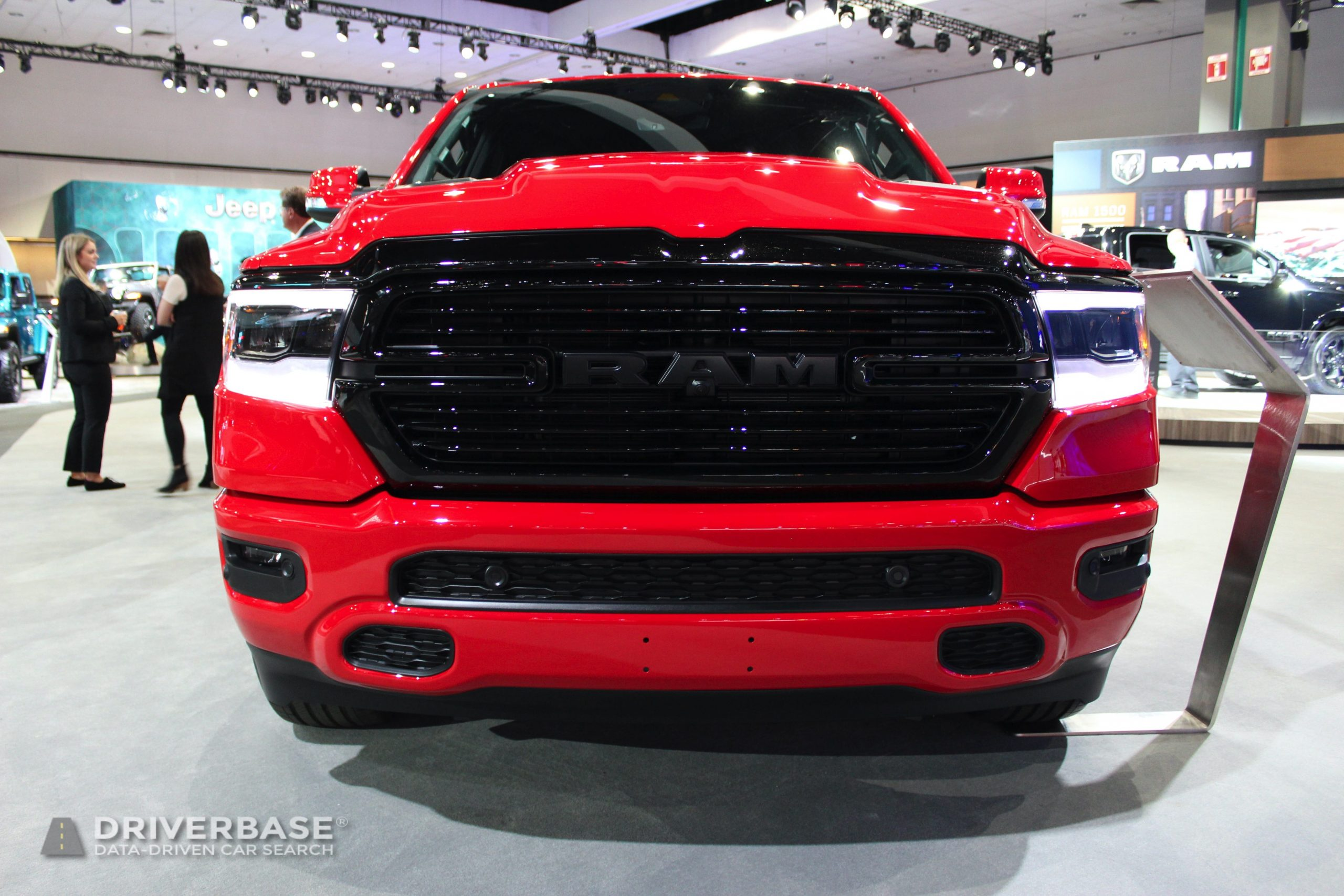 2020 Ram 1500 at the 2019 Los Angeles Auto Show