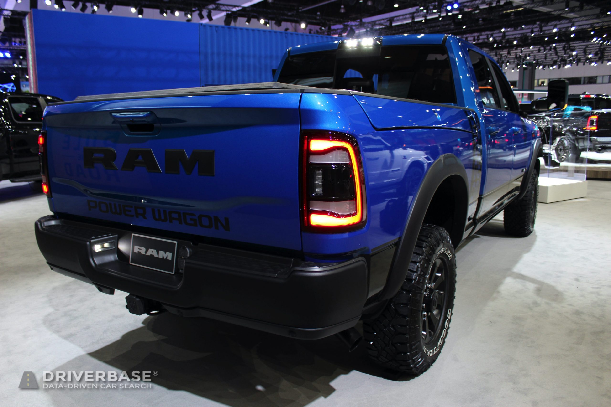 2020 Ram 2500 Powerwagon at the 2019 Los Angeles Auto Show