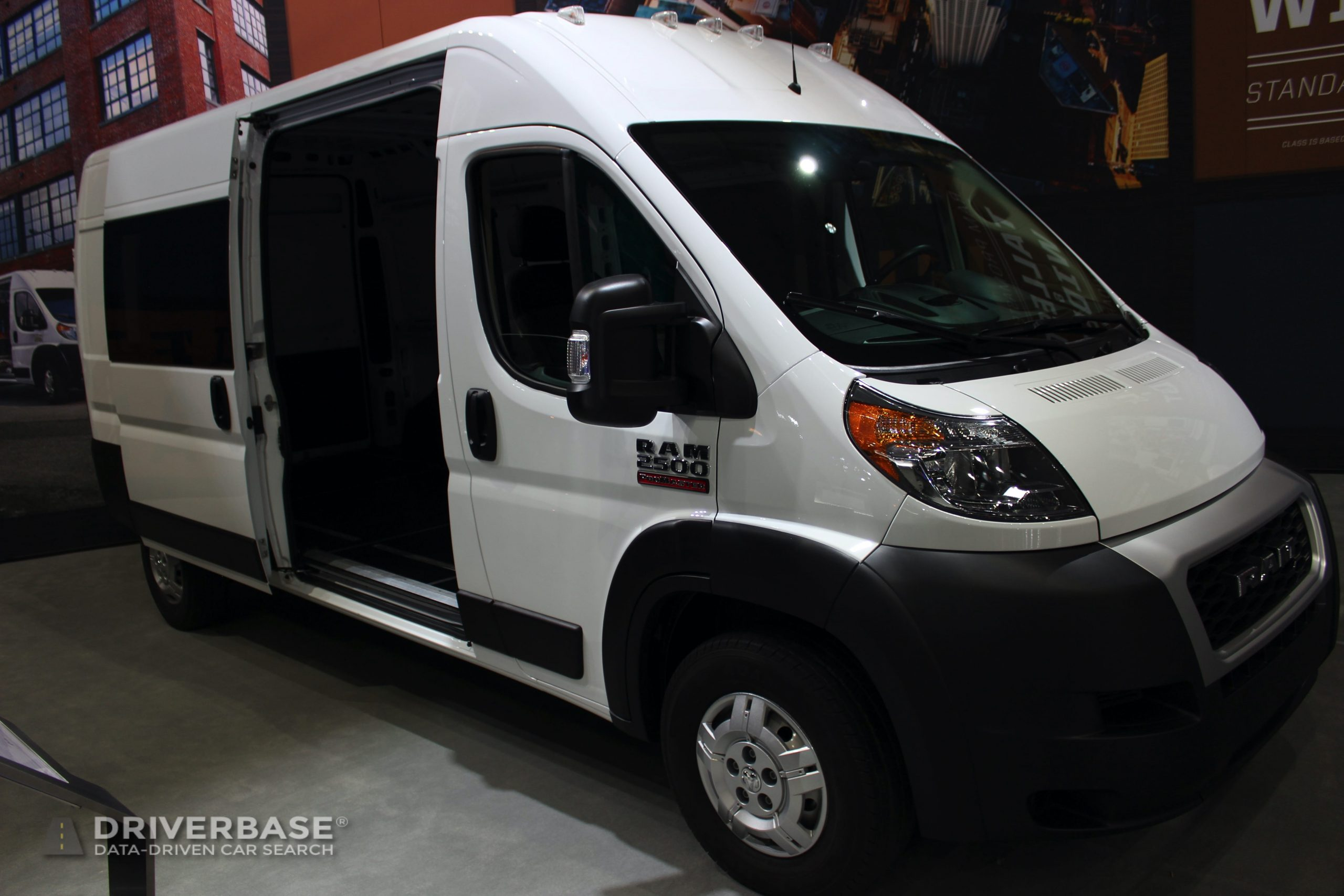 2020 Ram 2500 ProMaster at the 2019 Los Angeles Auto Show