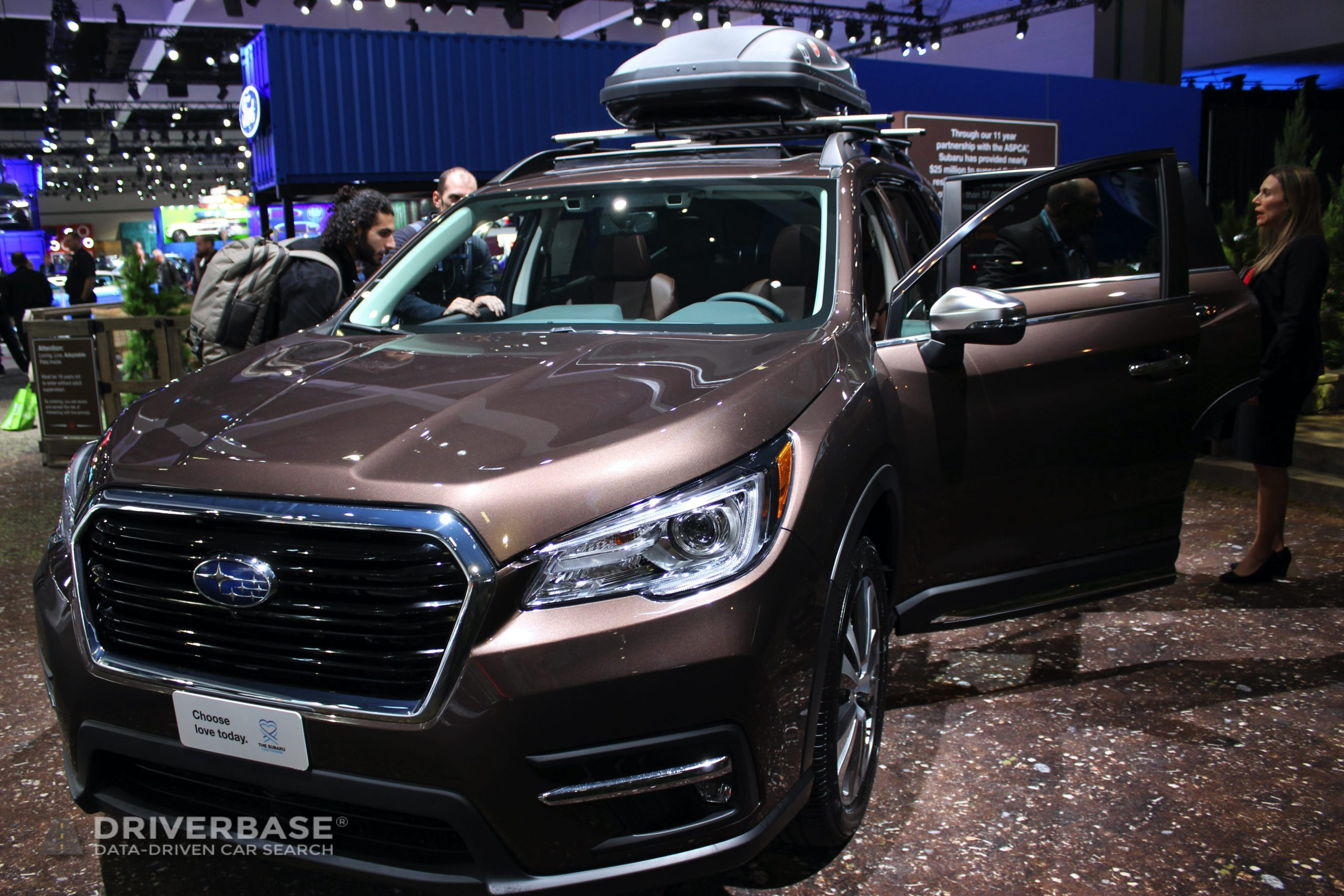 2020 Subaru Ascent Touring 2019 Los Angeles Auto Show