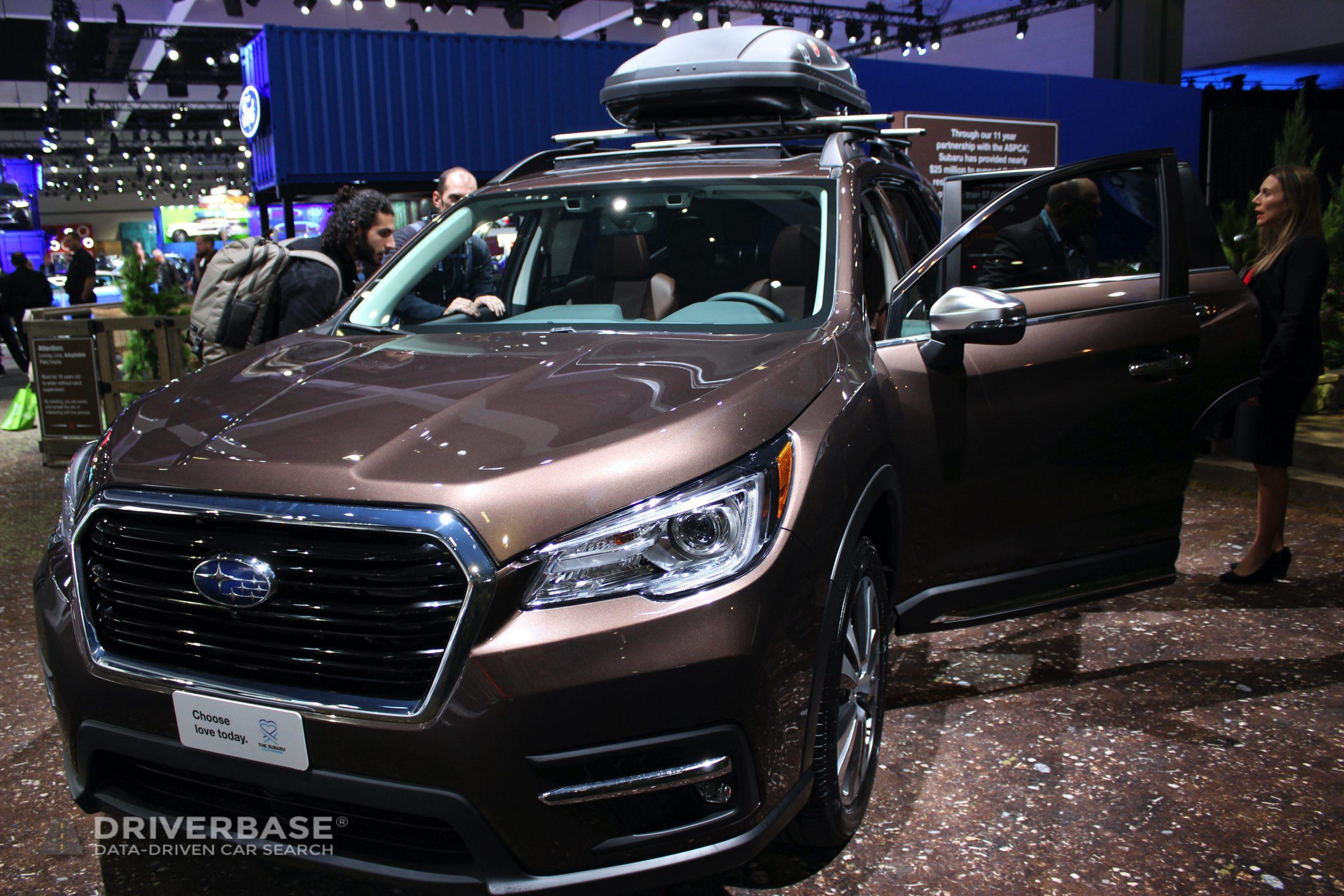 2020 Subaru Ascent Touring 2019 Los Angeles Auto Show