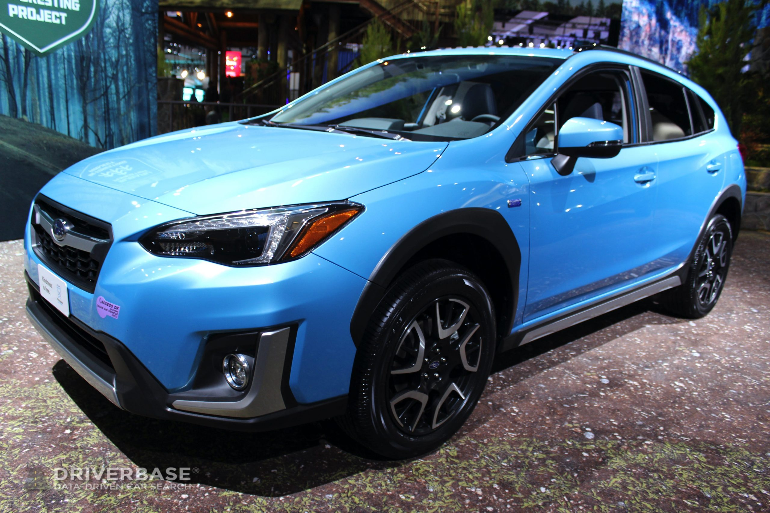 2020 Subaru Crosstrek Hybrid at the 2019 Los Angeles Auto Show