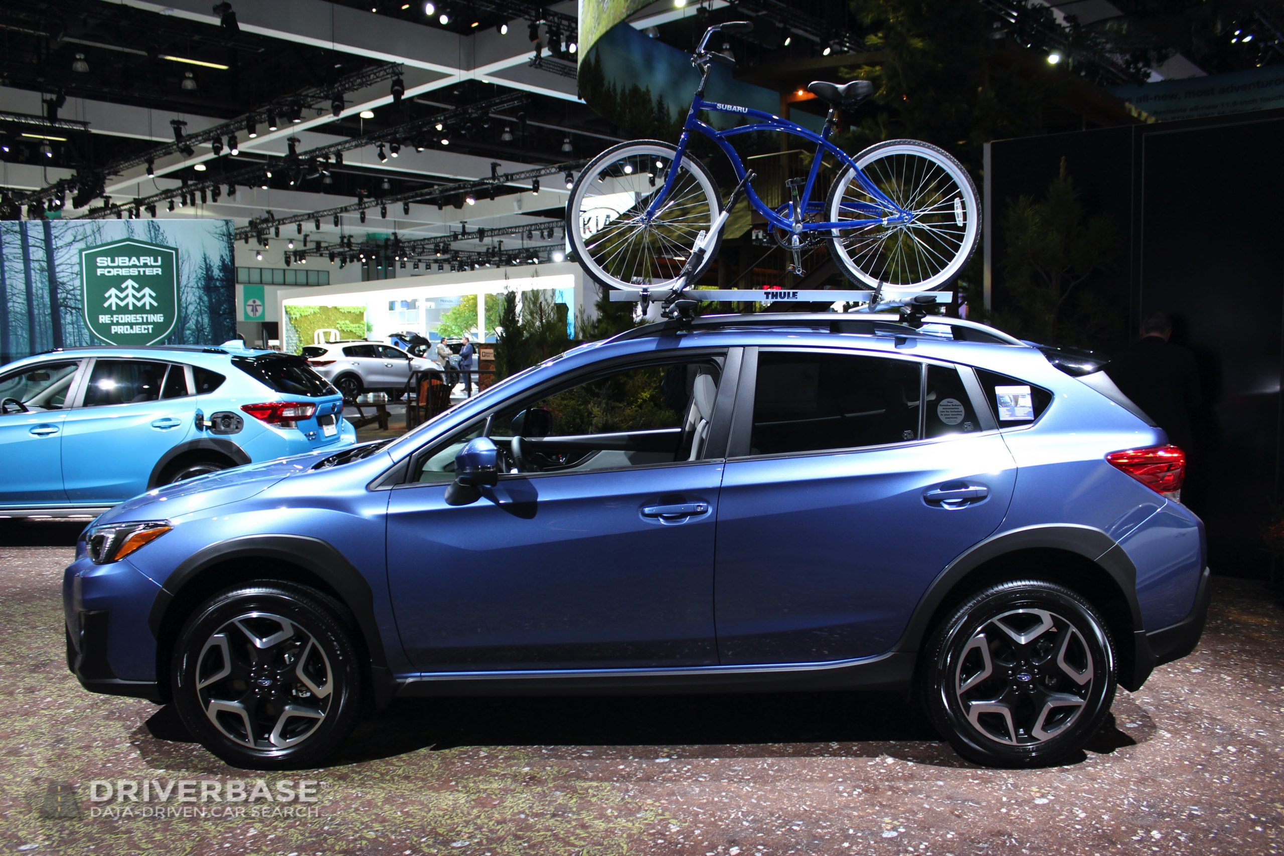 2020 Subaru Crosstrek at the 2019 Los Angeles Auto Show