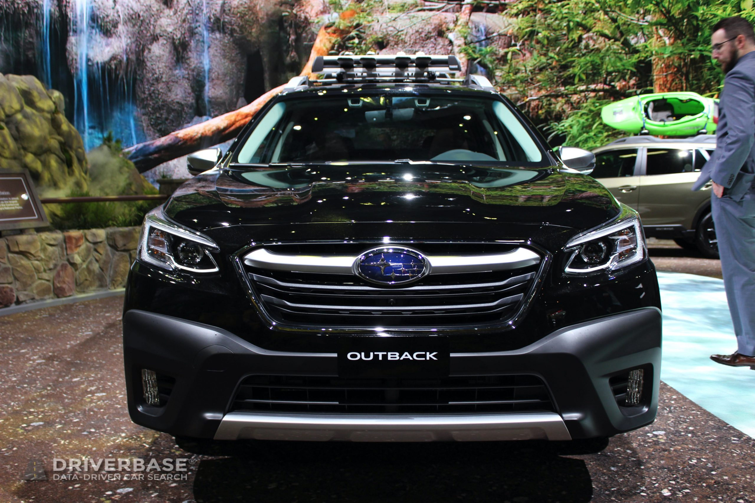 2020 Subaru Outback Touring at the 2019 Los Angeles Auto Show