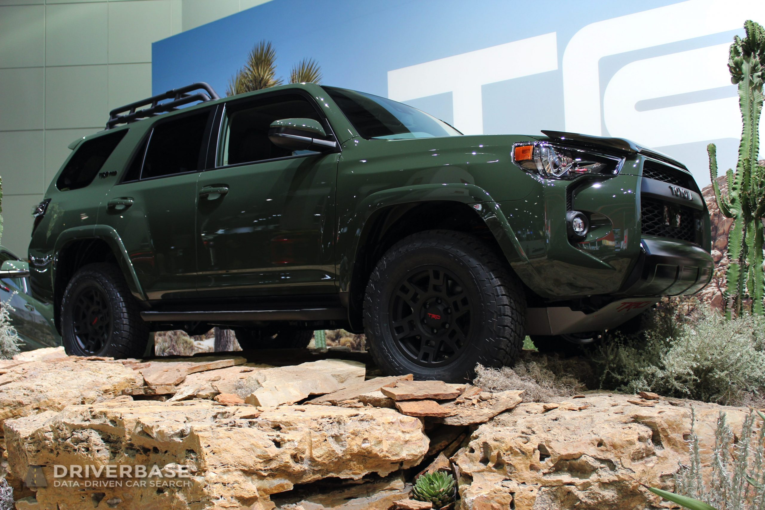 2020 Toyota 4Runner TRD Pro at the 2019 Los Angeles Auto Show