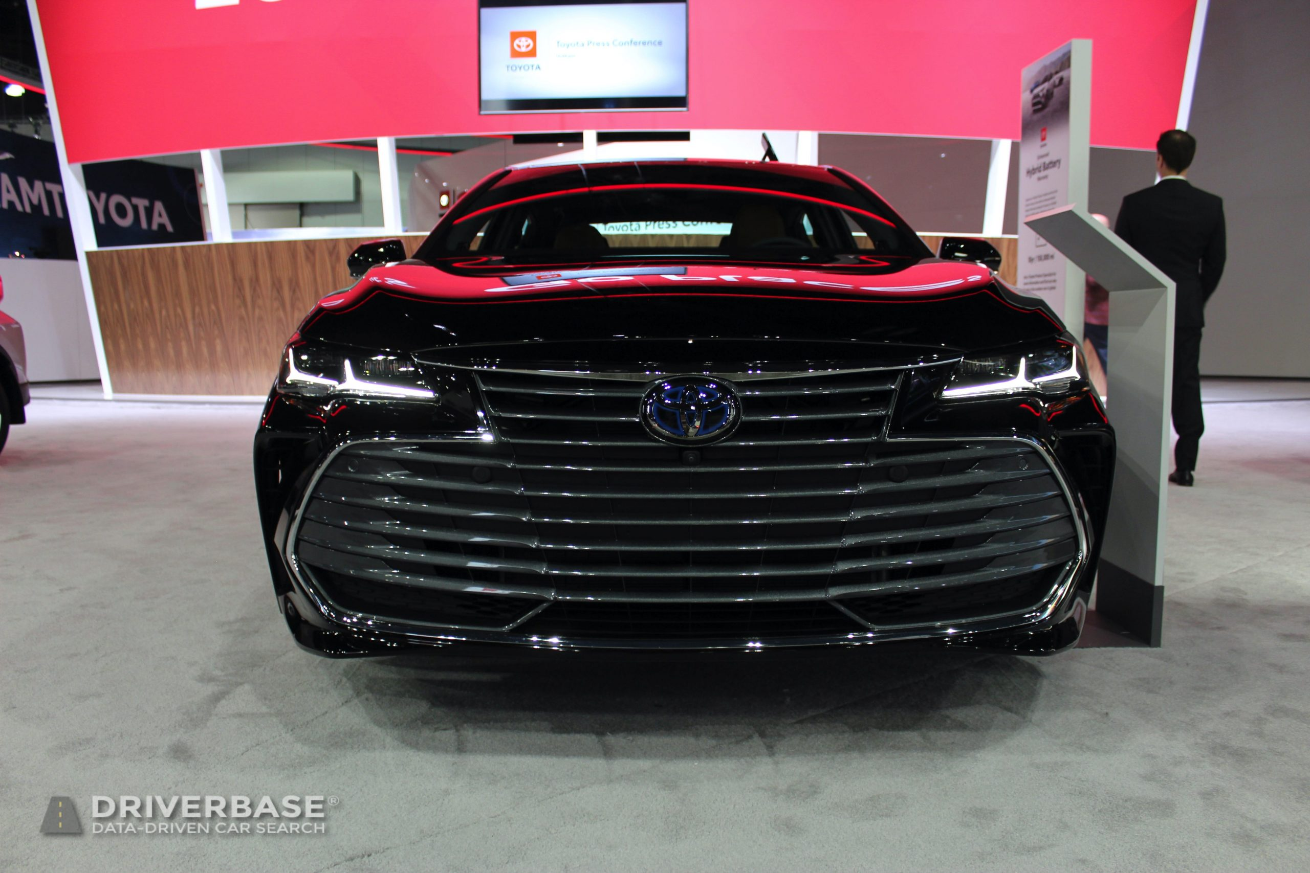 2020 Toyota Avalon Limited Hybrid at the 2019 Los Angeles Auto Show