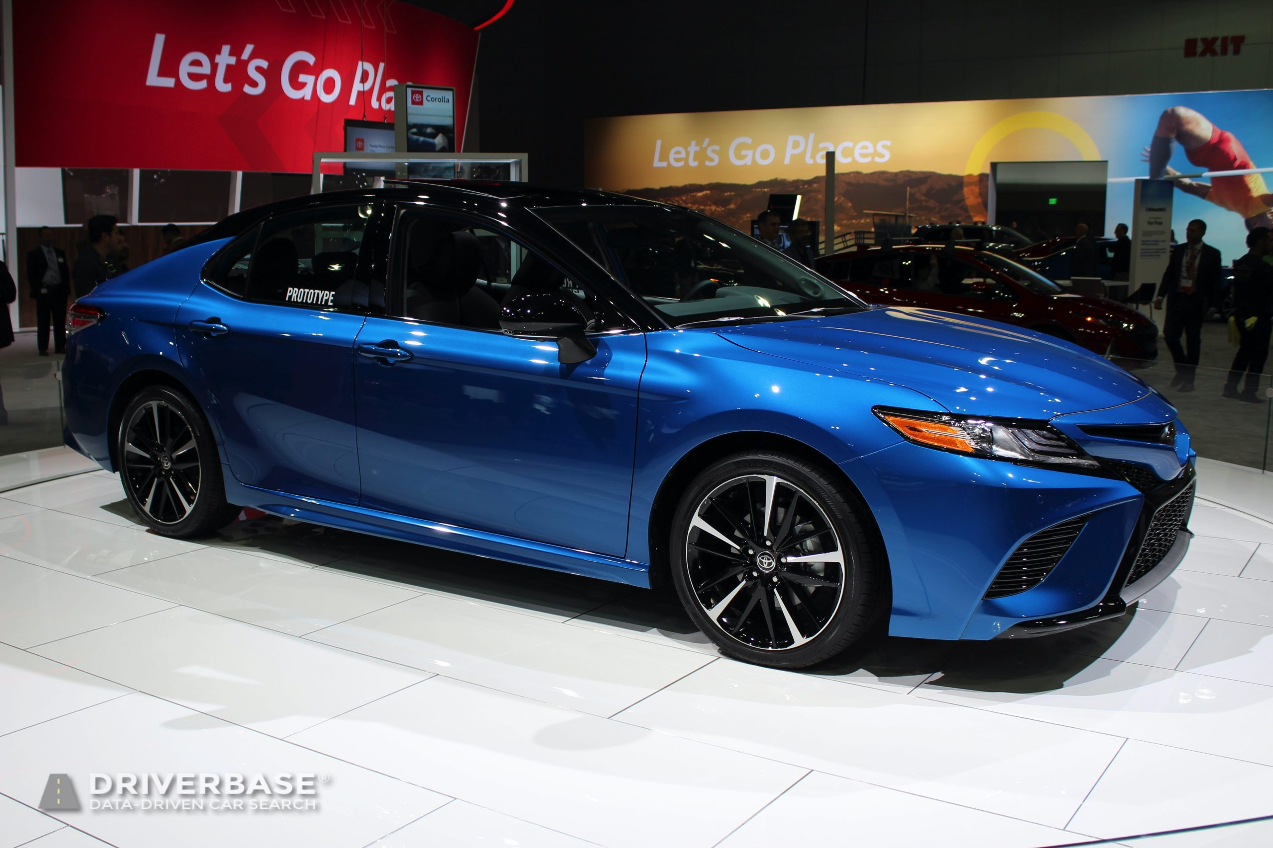 2020 Toyota Camry XSE All Wheel Drive at the 2019 Los Angeles Auto Show