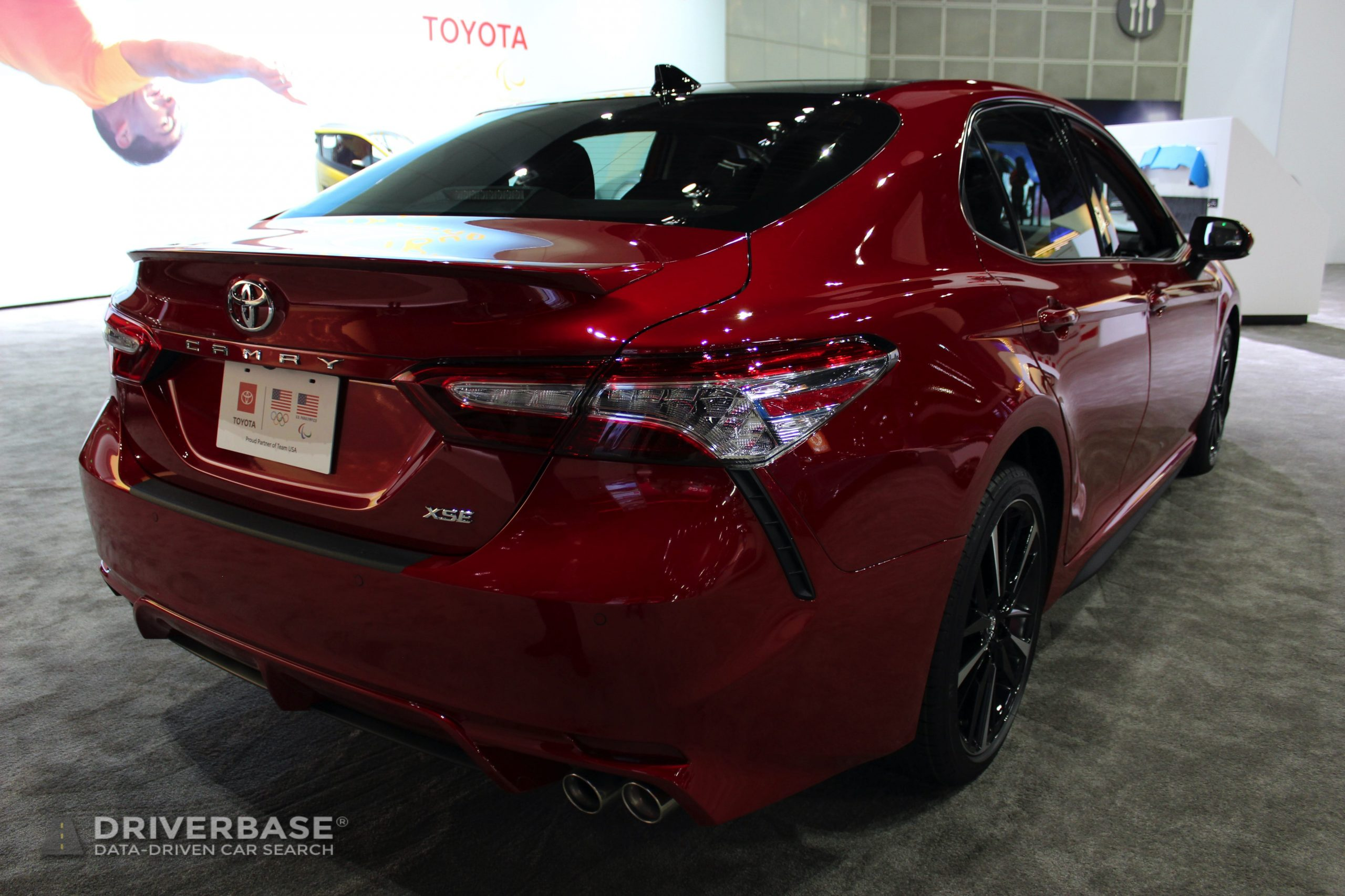 2020 Toyota Camry XSE at the 2019 Los Angeles Auto Show