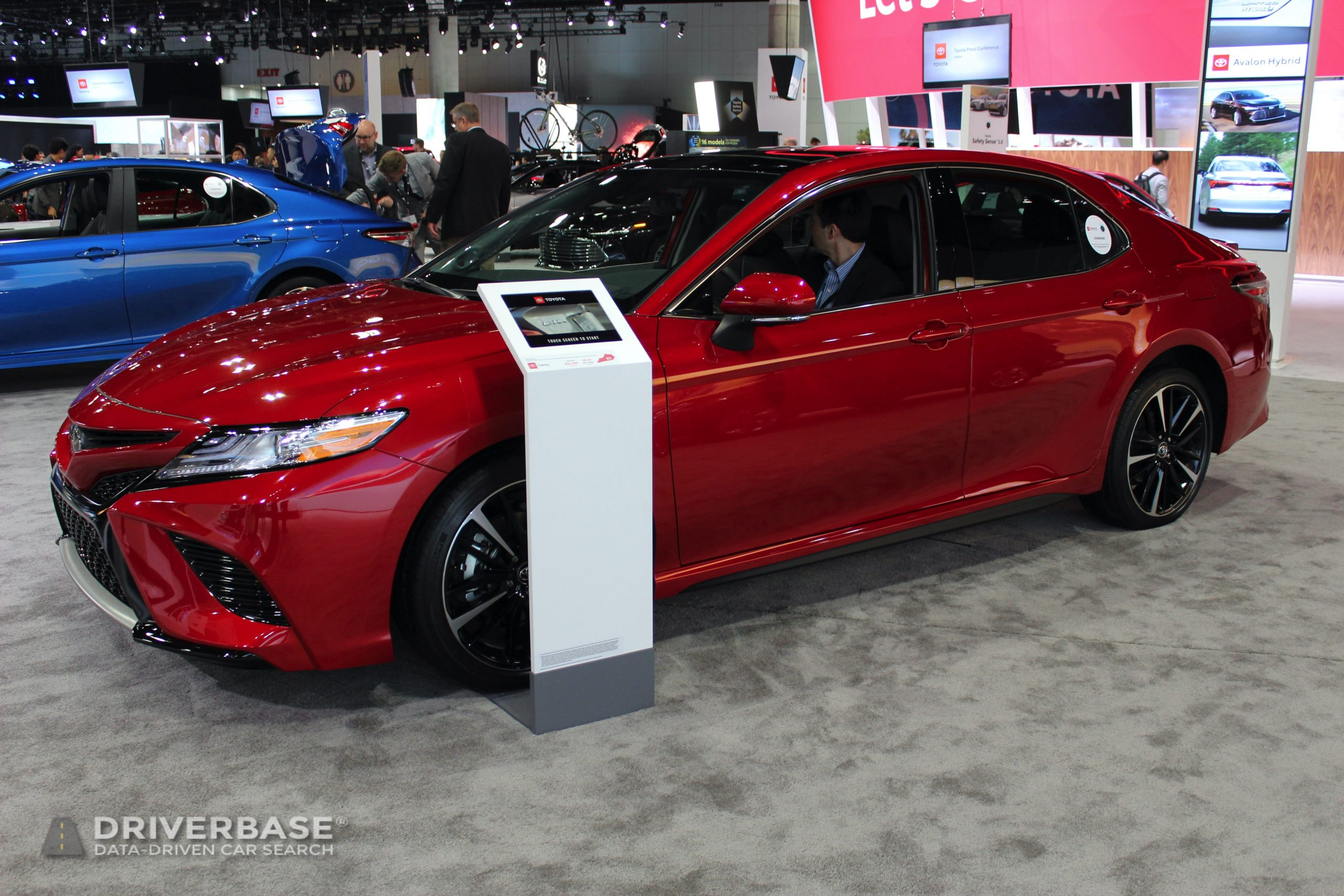2020 Toyota Camry at the 2019 Los Angeles Auto Show