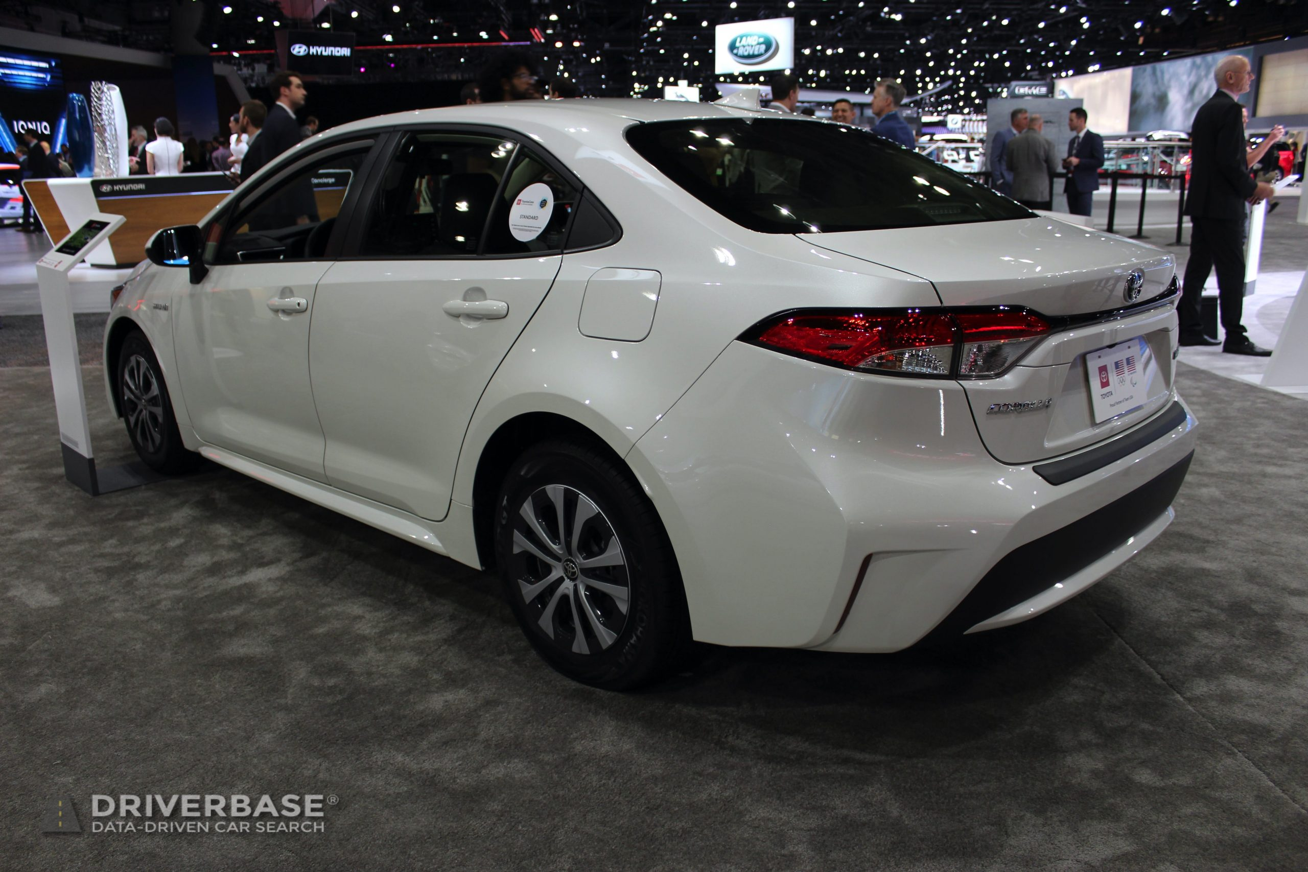 2020 Toyota Corolla Hybrid at the 2019 Los Angeles Auto Show