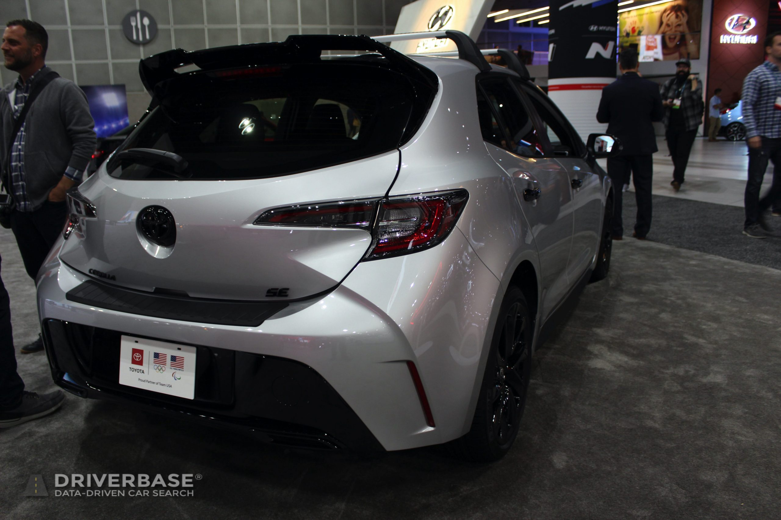2020 Toyota Corolla SE at the 2019 Los Angeles Auto Show