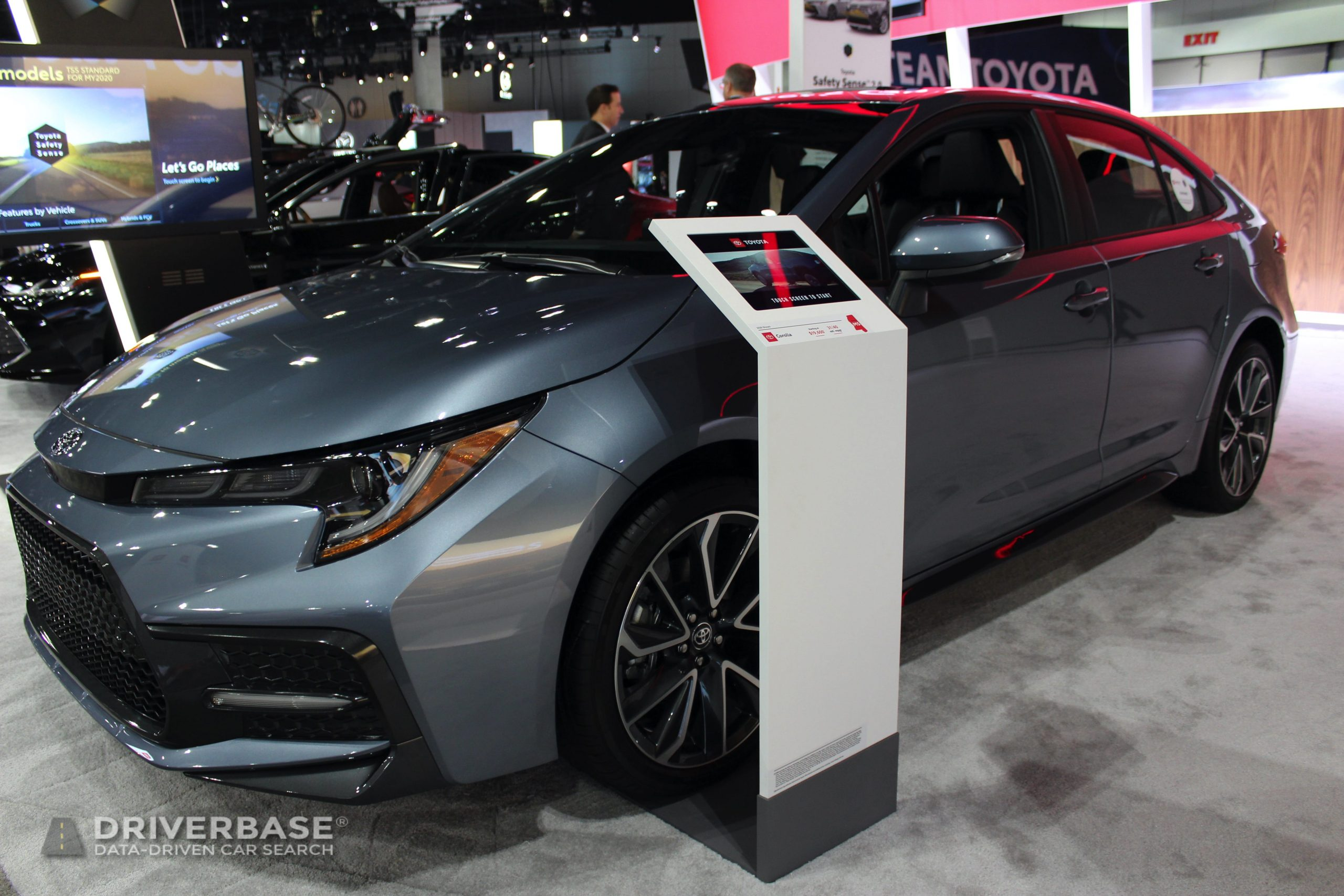 2020 Toyota Corolla XSE at the 2019 Los Angeles Auto Show
