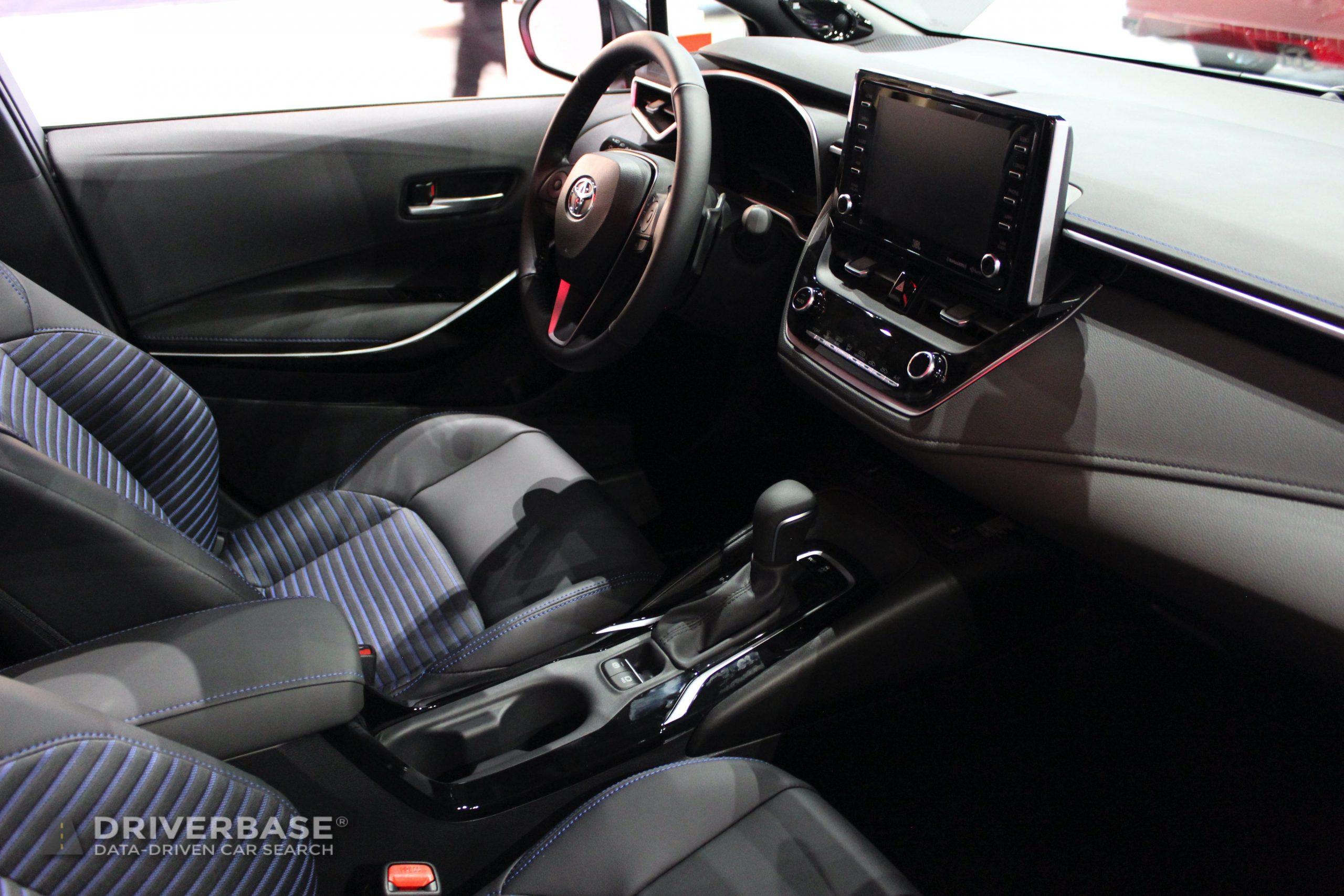 2020 Toyota Corolla XSE at the 2019 Los Angeles Auto Sh