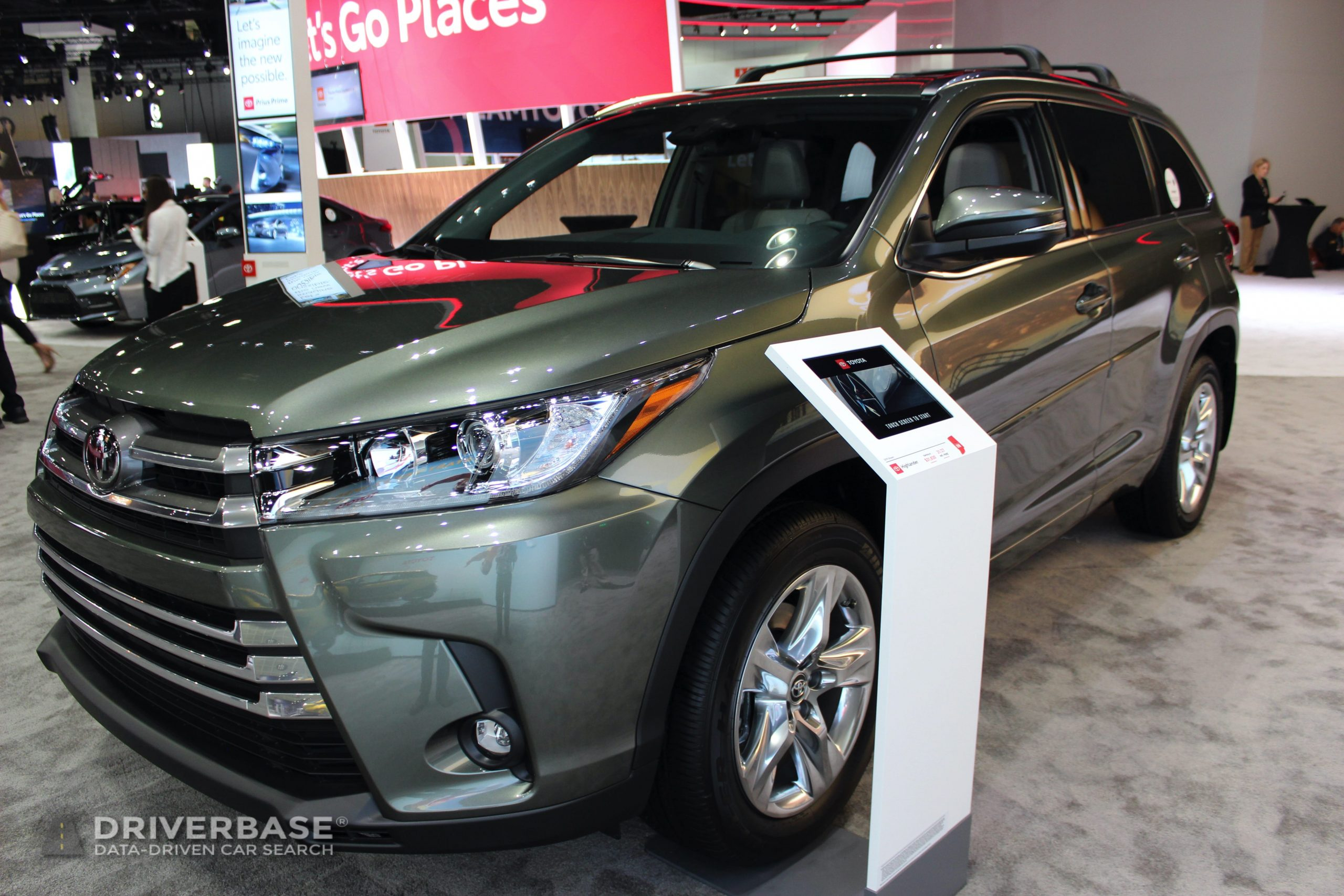 2020 Toyota Highlander Limited All Wheel Drive at the 2019 Los Angeles Auto Show