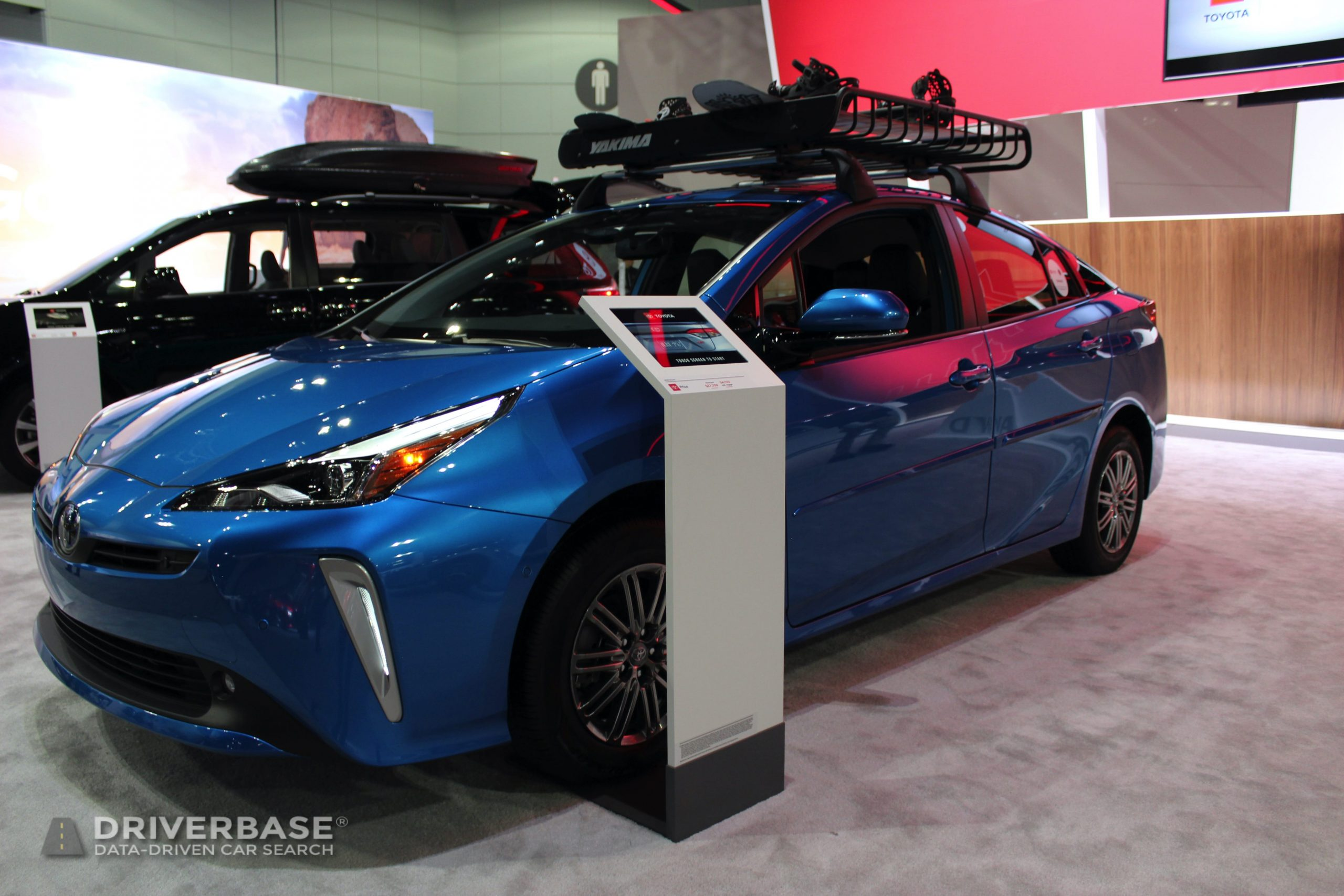 2020 Toyota Prius Hybrid All Wheel Drive at the 2019 Los Angeles Auto Show