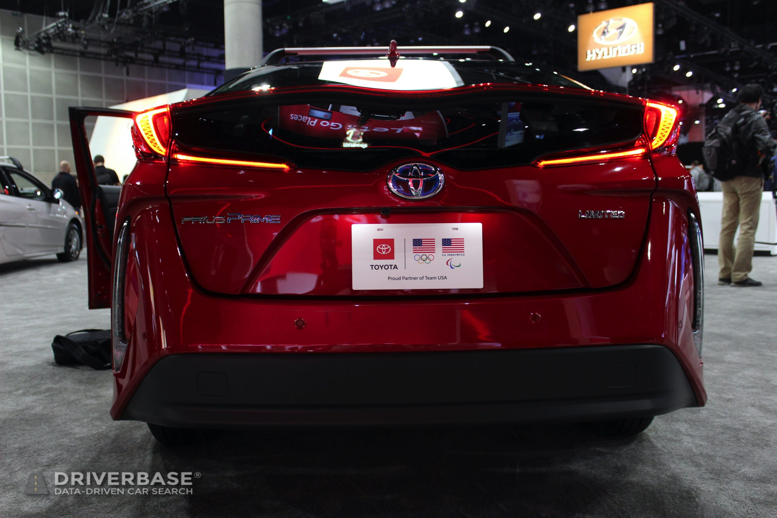 2020 Prius Prime at the 2019 Los Angeles Auto Show