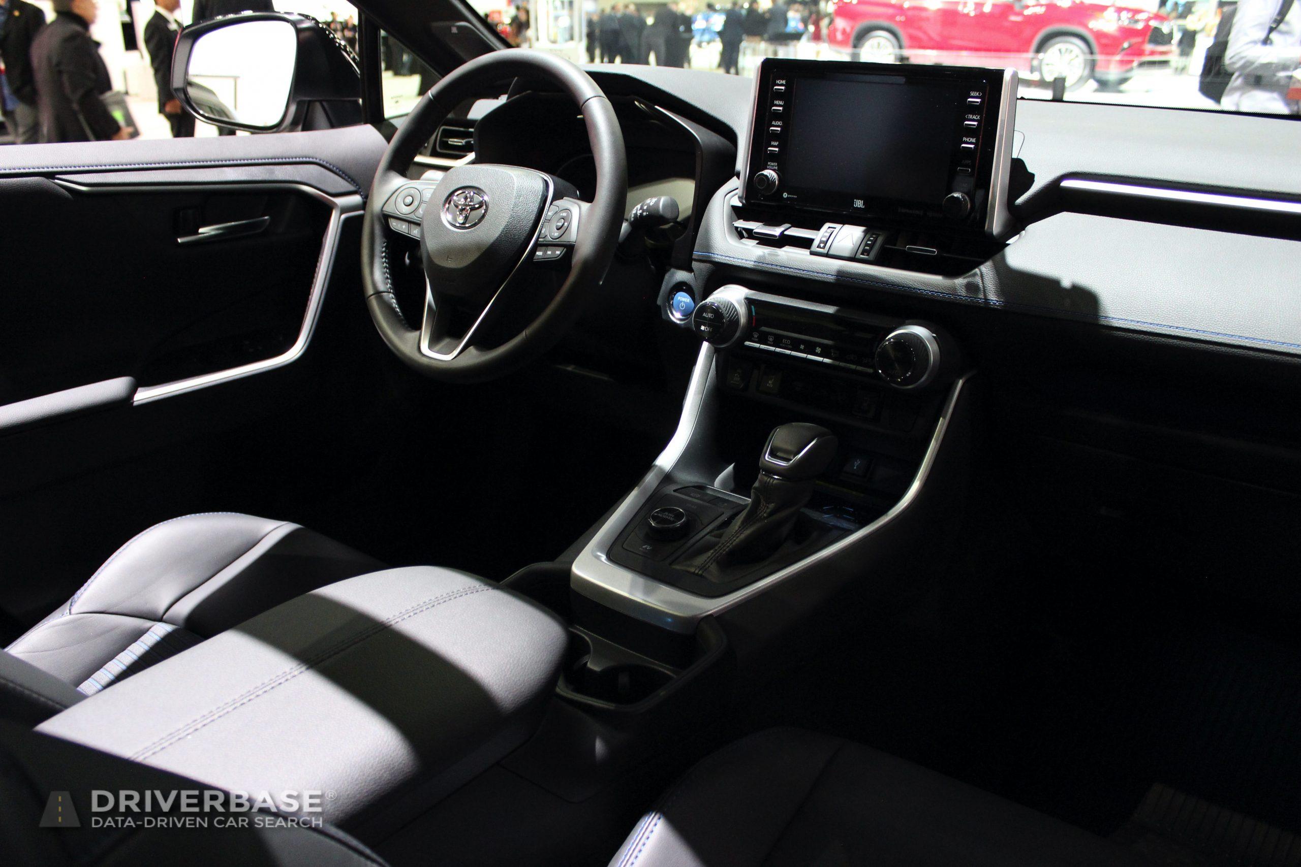 2020 Toyota RAV4 XSE Hybrid at the Los Angeles Auto Show