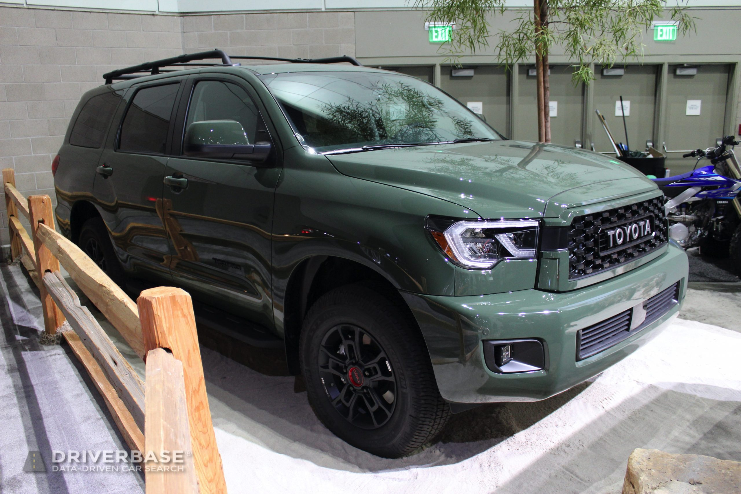 2020 Toyota Sequoia TRD Pro at the 2019 Los Angeles Auto Show