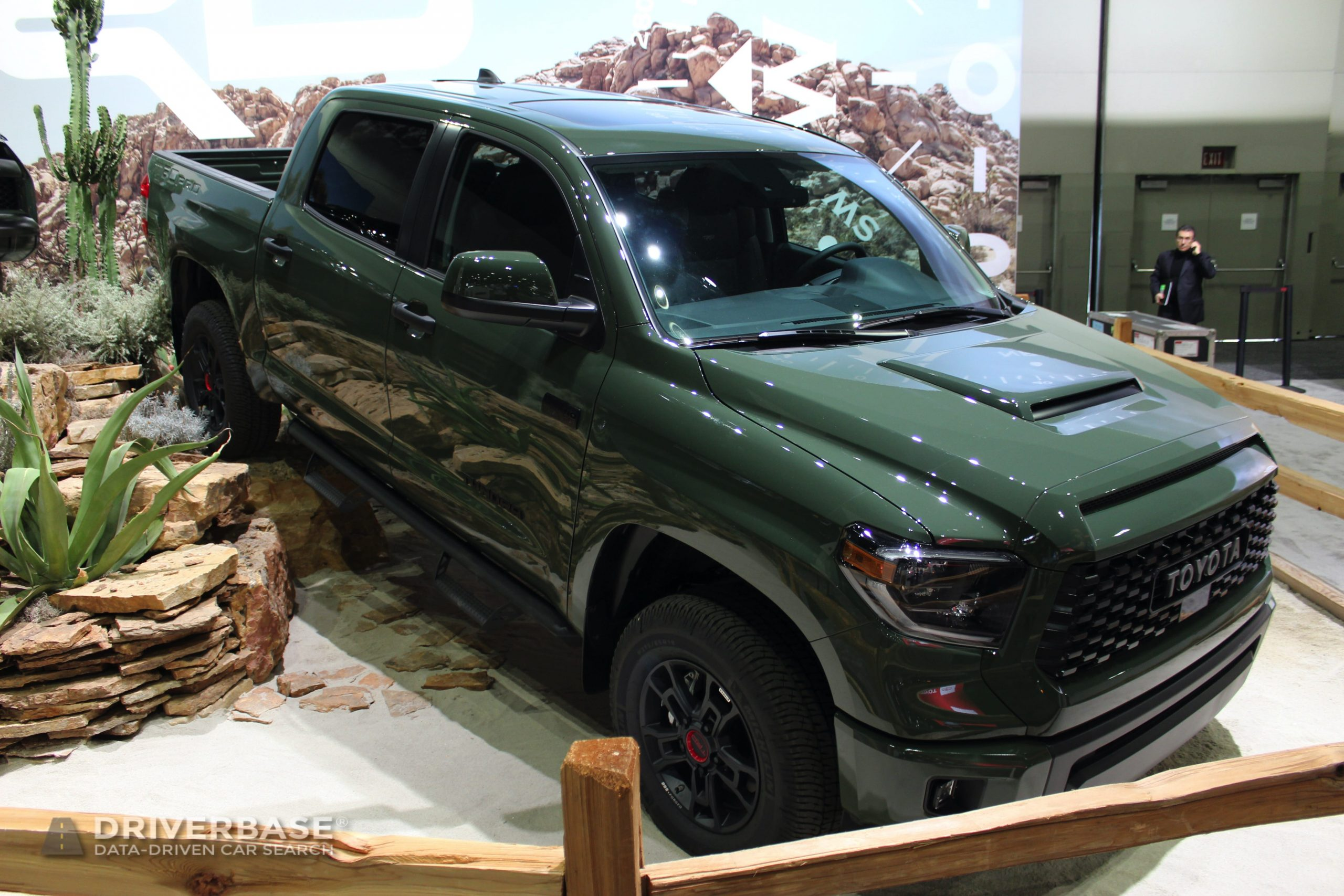 2020 Toyota Tundra TRD Pro at the Los Angeles Auto Show